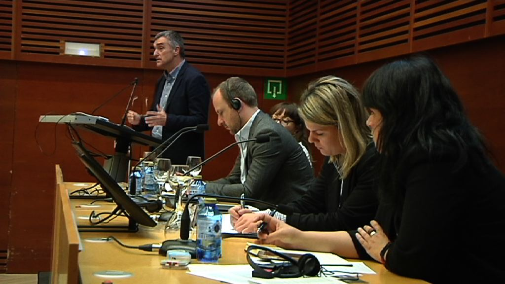 Eusko Jaurlaritzak Uztartu Programa aurkeztu du Erradikalizazio biolentoaren prebentziorako Nazioarteko Mintegian
