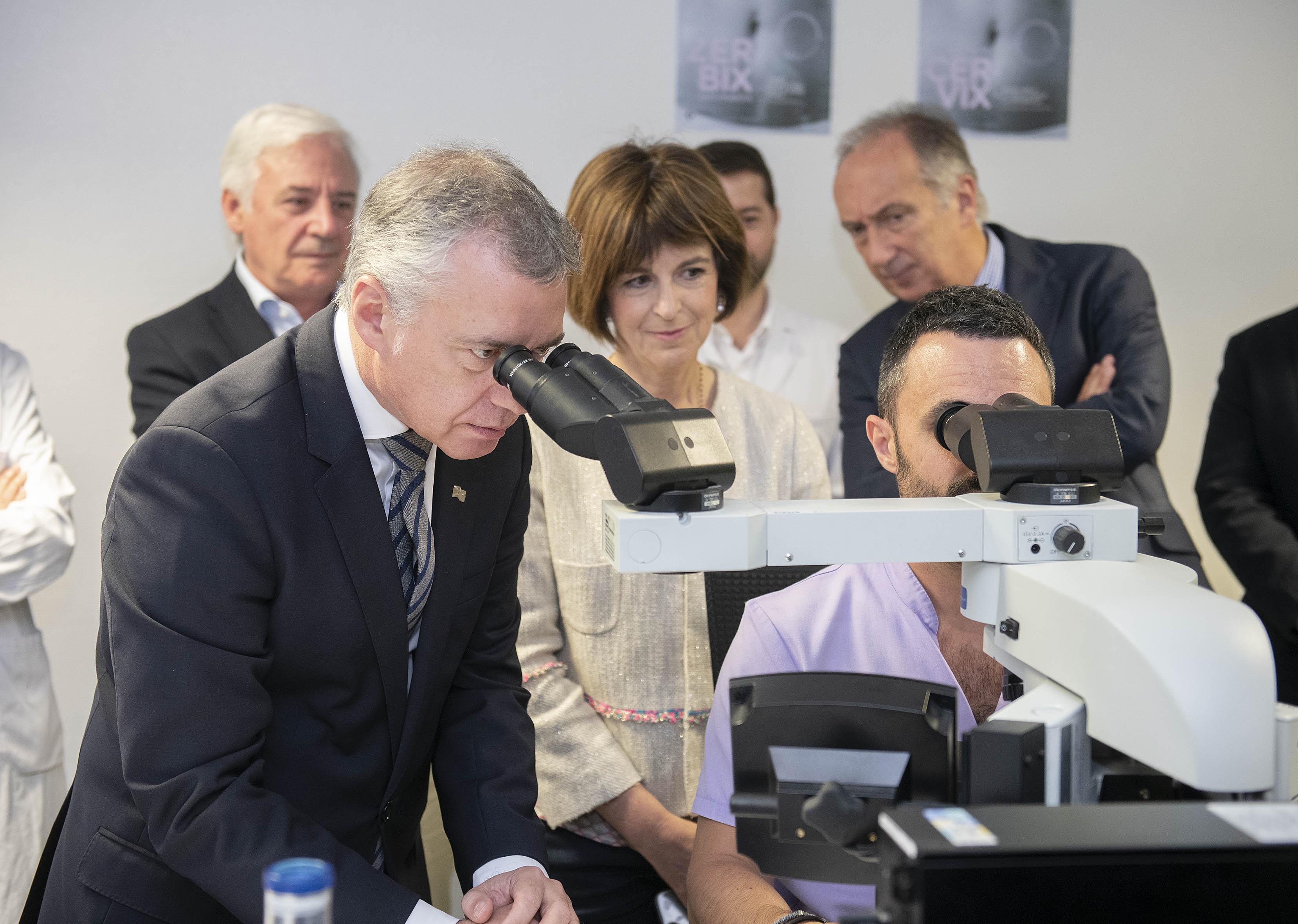 El programa de cribado poblacional de cáncer de cérvix se extiende a Bizkaia tras su implantación en Gipuzkoa y Araba
