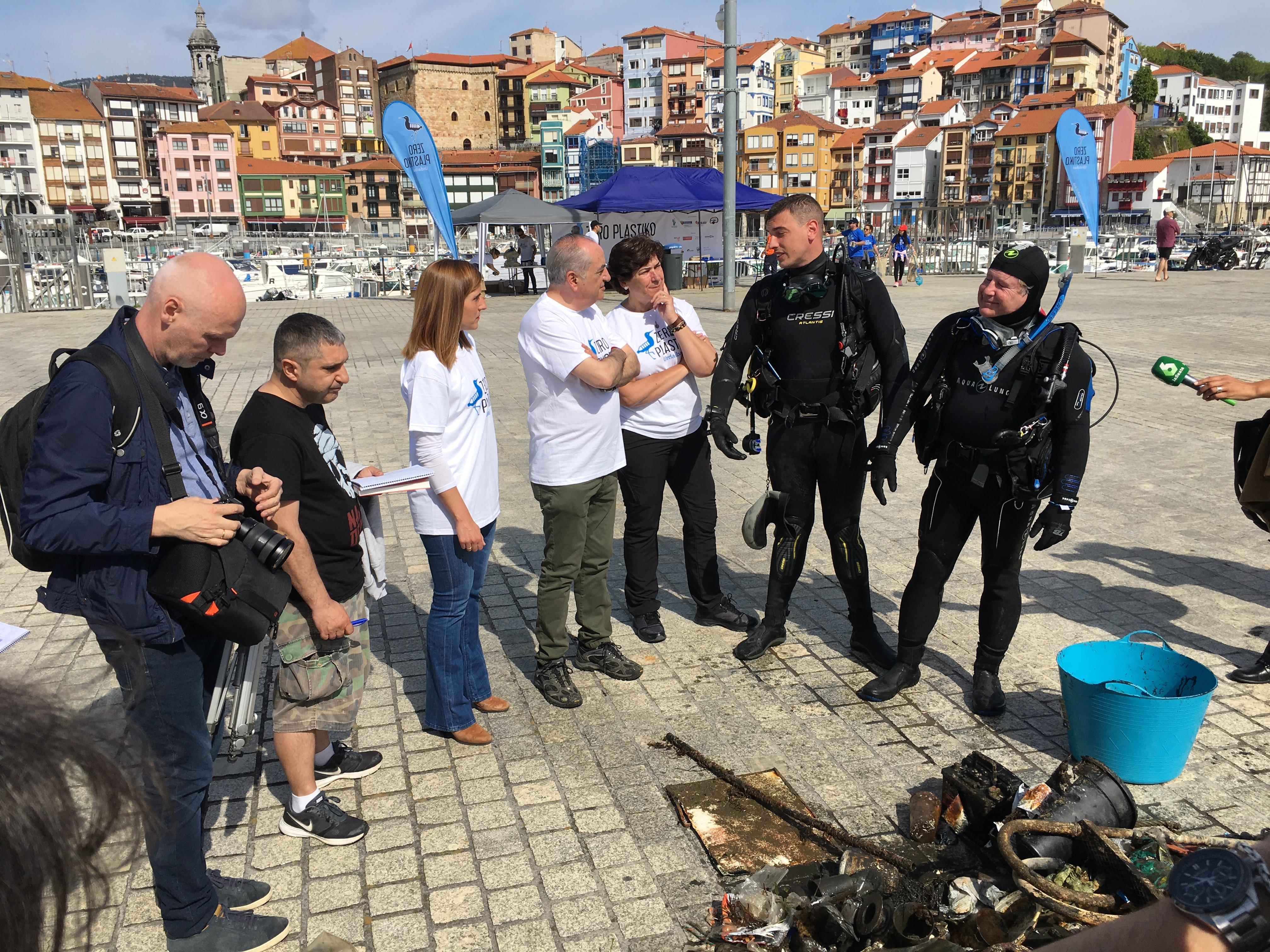 Arranca Zero Plastiko Urdaibai, la gran jornada de limpieza y concienciación sobre plásticos en el litoral de Urdaibai
