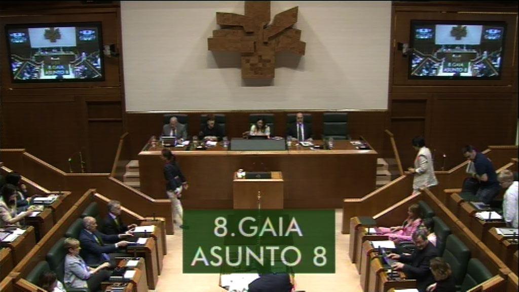 Pregunta formulada por Dª. Laura Garrido Knörr, parlamentaria del grupo Popular Vasco, al lehendakari,sobre el incumplimiento del programa legislativo en la regulación de la materia para erradicar la violencia contra las mujeres