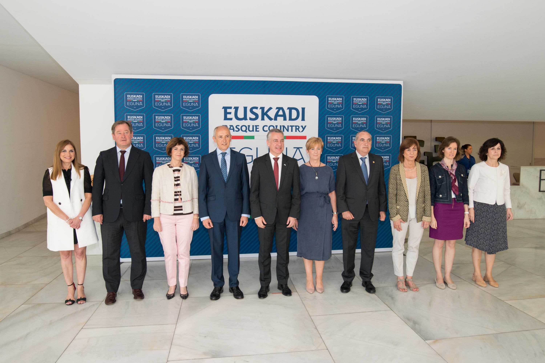 Lehendakariak Euskadi Basque Country Egunaren lehen edizioa inauguratu du