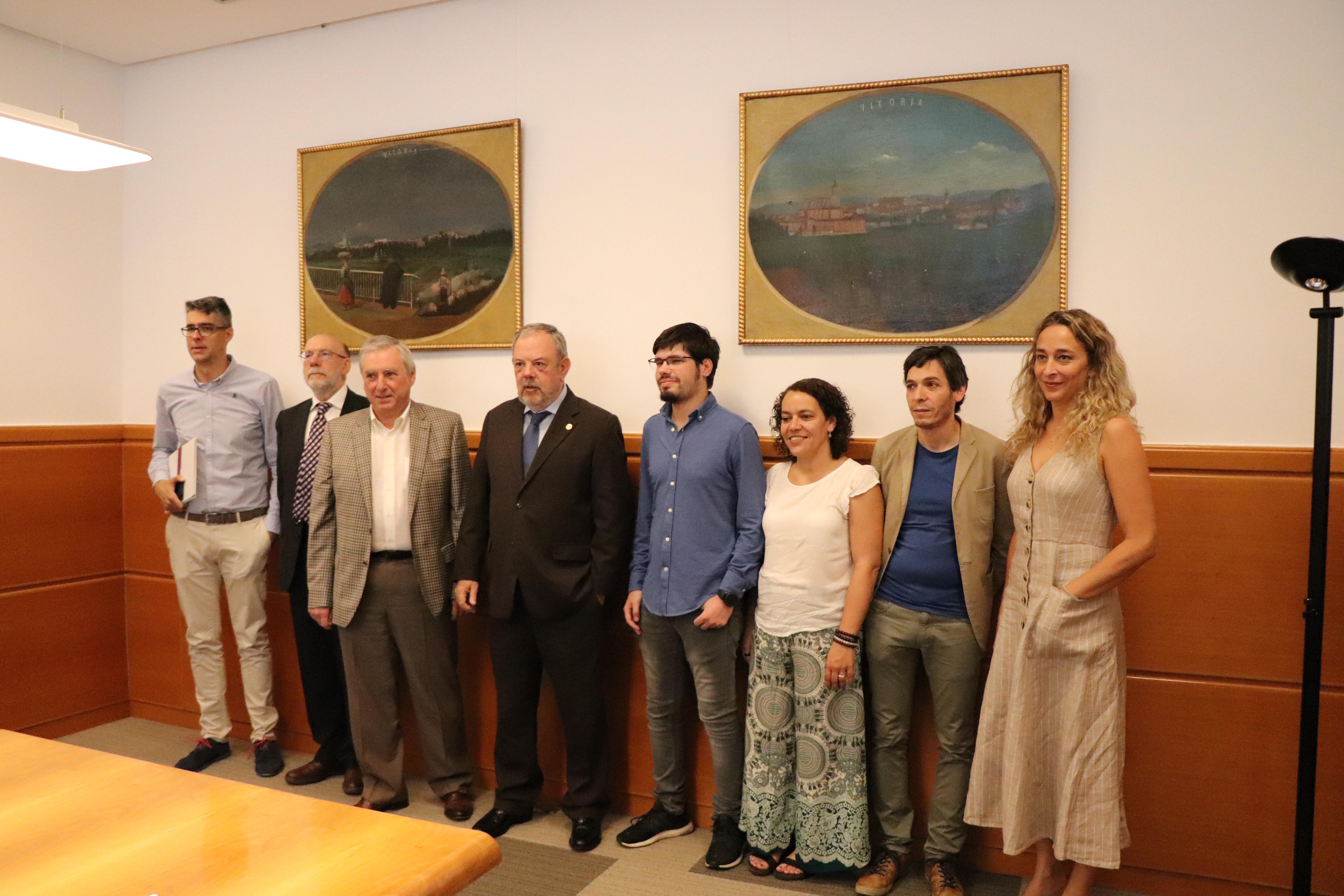 Reunión del Consejero Pedro Azpiazu con ELKARREKIN PODEMOS sobre el Presupuesto de la CAV de 2020