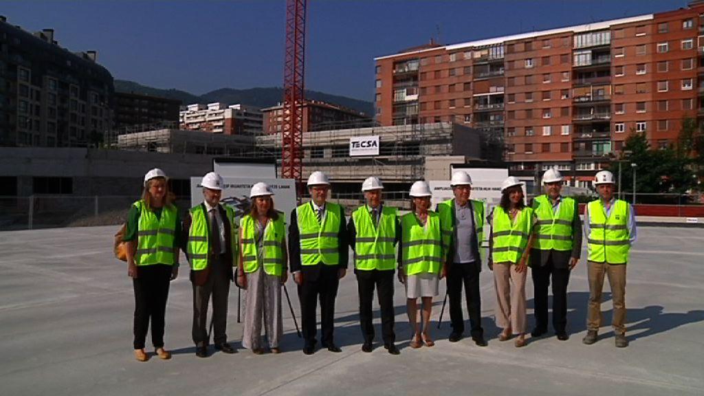 El Lehendakari visita nuevas infraestructuras educativas en Bilbao