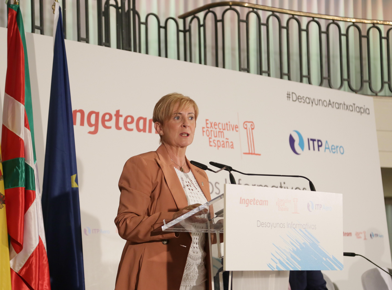 Tapia destaca en Madrid la fortaleza y retos de la Industria de Euskadi y la califica como un espacio de oportunidad para atraer a la juventud