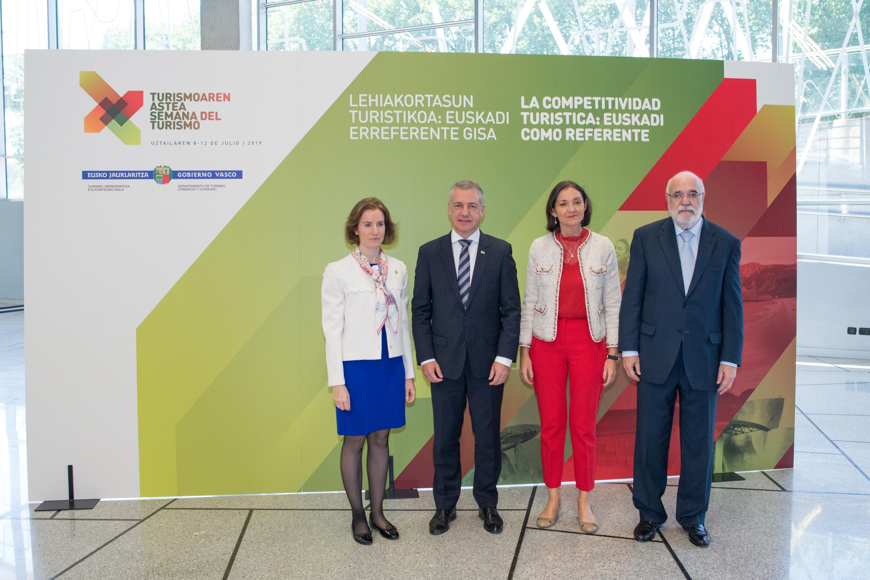 Euskadi, referente en competitividad turística