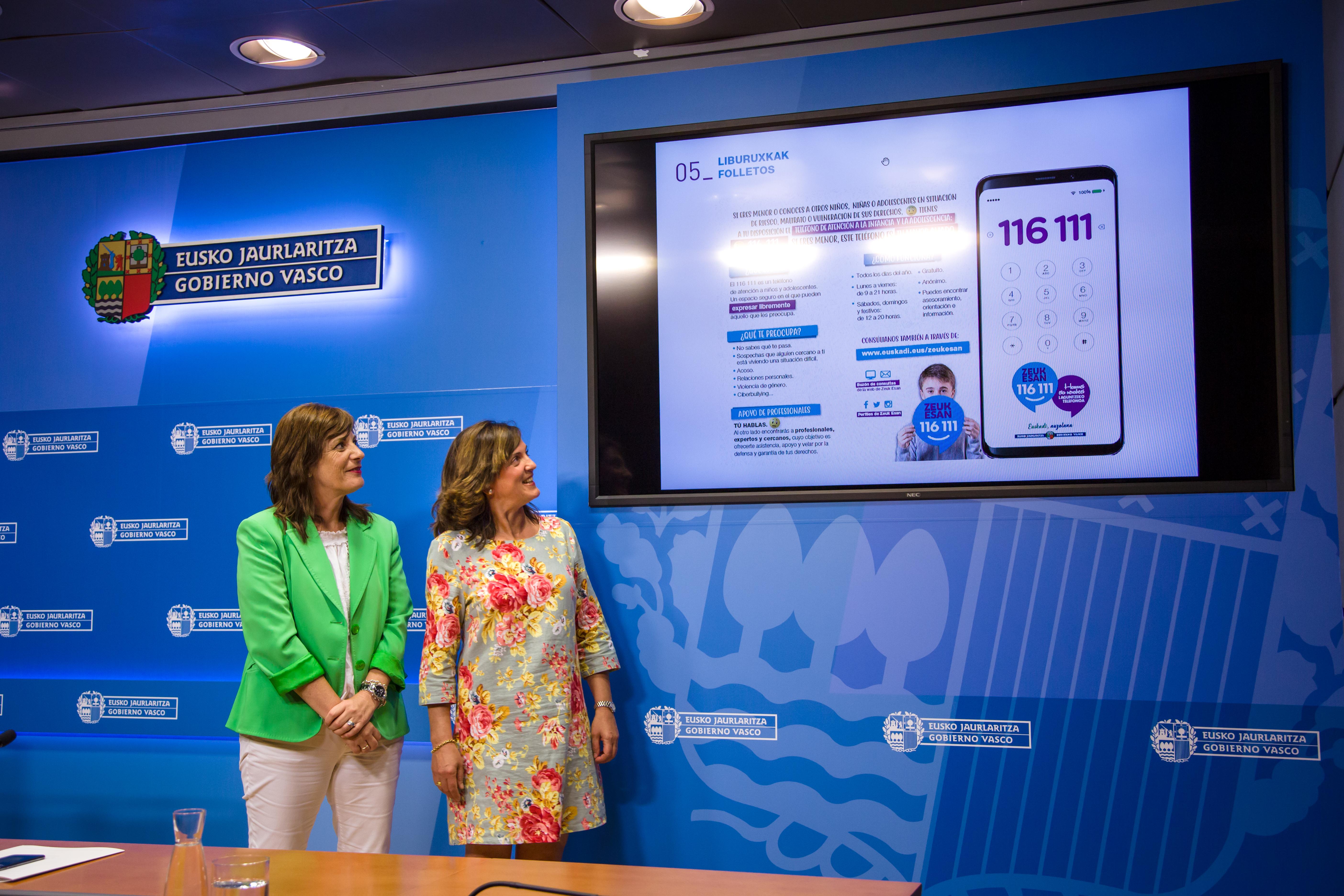 """Beatriz Artolazabal: """"El Servicio Zeuk Esan actualiza su imagen y asesora a las personas menores de edad"""""""