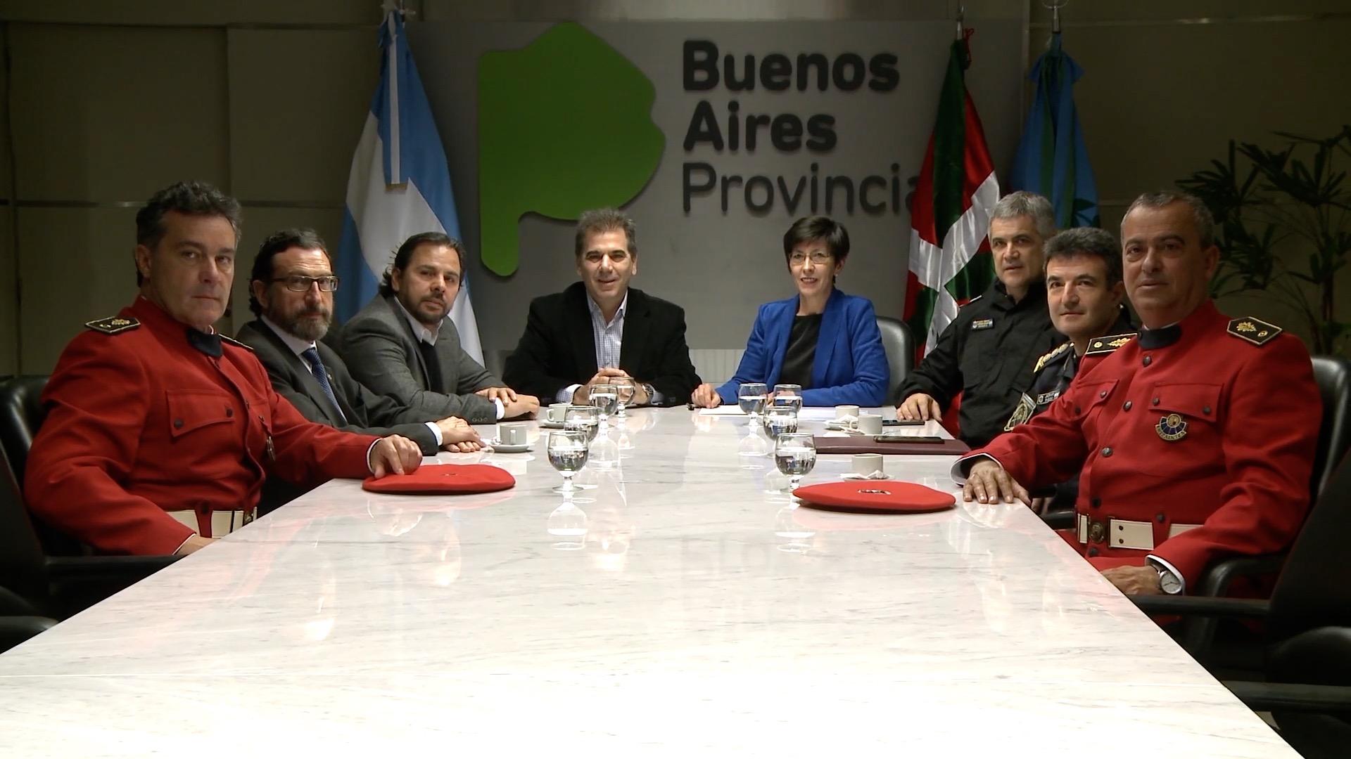 La Consejera de Seguridad y el Ministro de Seguridad de la Provincia de Buenos Aires firman un acuerdo para intensificar la colaboración policial