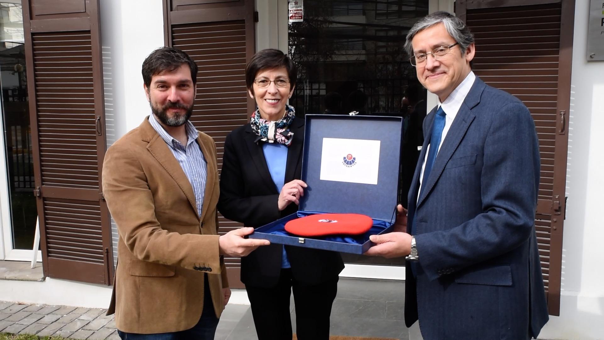La Consejera de Seguridad visita la Fundación Paz Ciudadana Políticas Públicas de Seguridad y Justicia