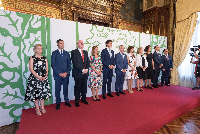 El Lehendakari participa en la Recepción a la sociedad vizcaína que ofrece la Diputación Foral de Bizkaia