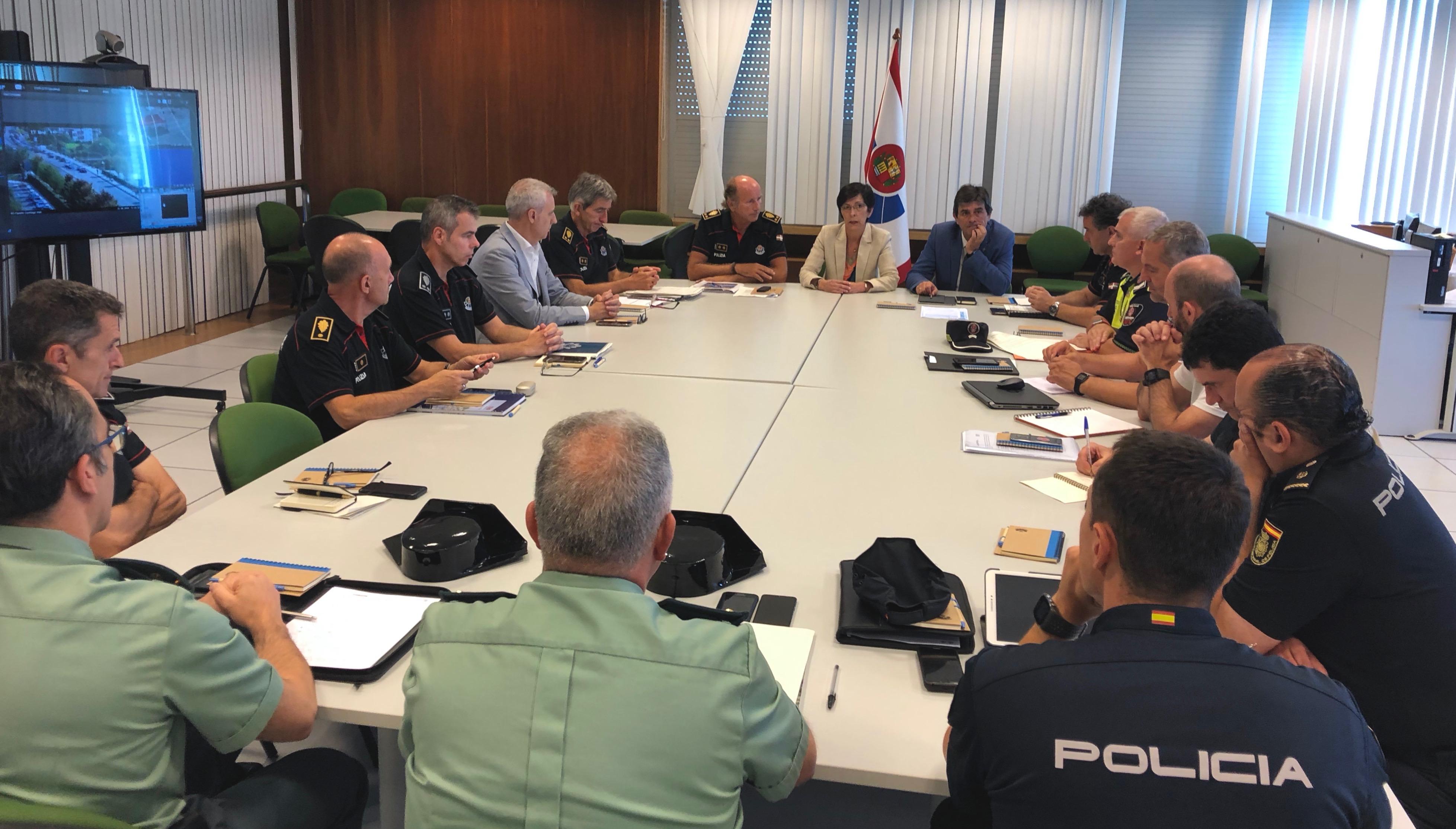 El Departamento de Seguridad activará un centro de coordinación, información y seguimiento policial de la cumbre del G-7 en la sede de la Ertzaintza en Oiartzun