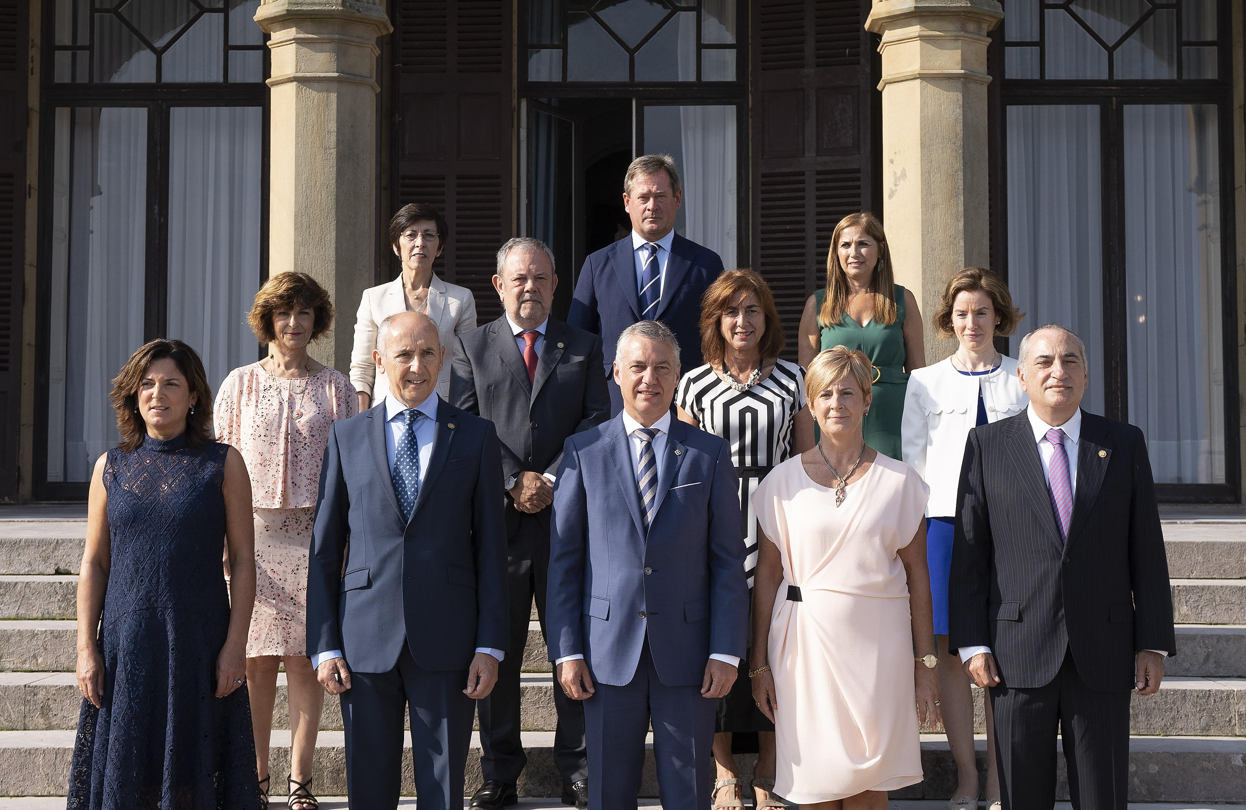 El Gobierno Vasco celebra el primer Consejo de Gobierno del curso político, en el Palacio Miramar