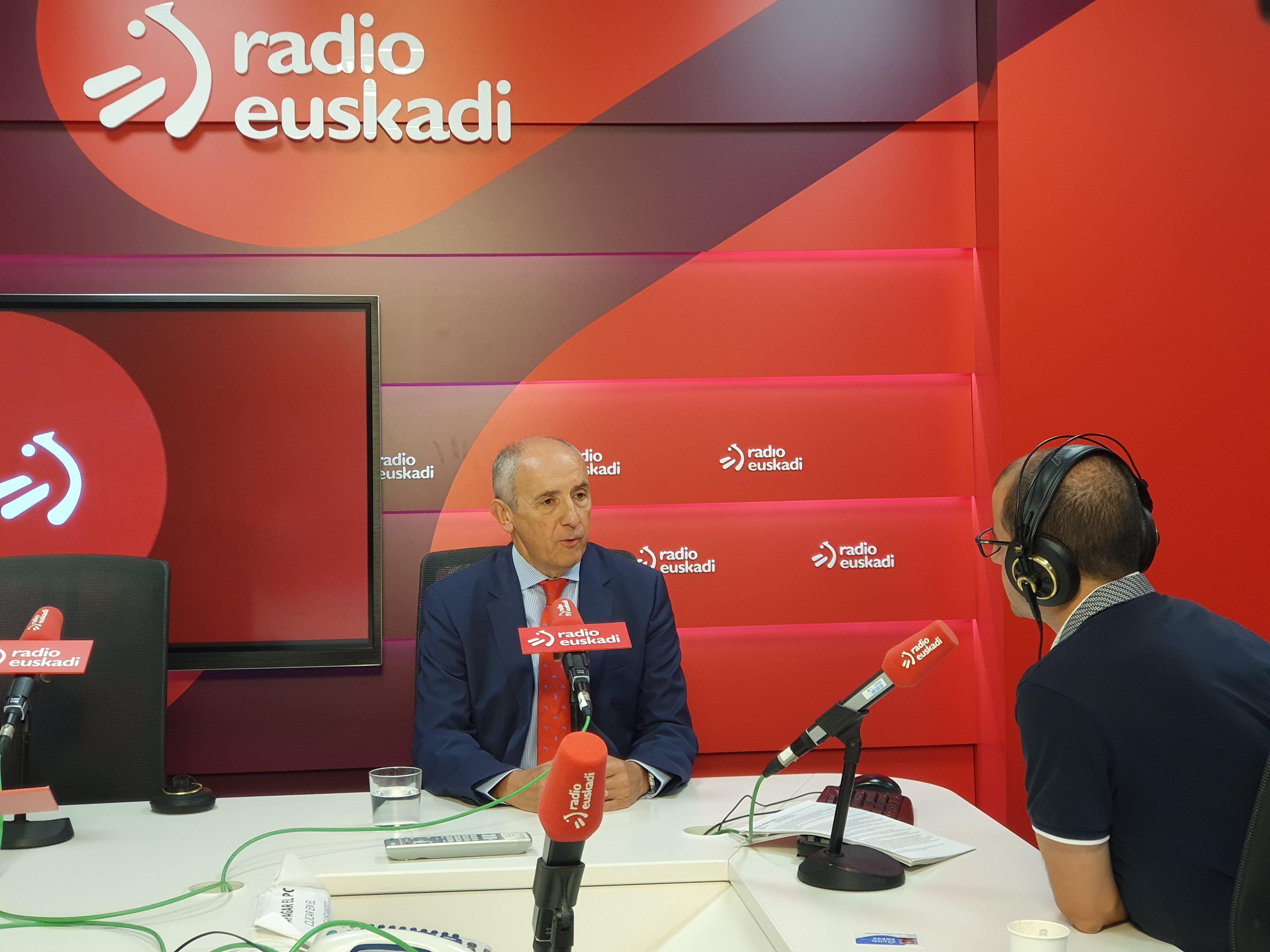 """Josu Erkoreka Radio Euskadiko """"Boulevard"""" saioan elkarrizketatu dute"""