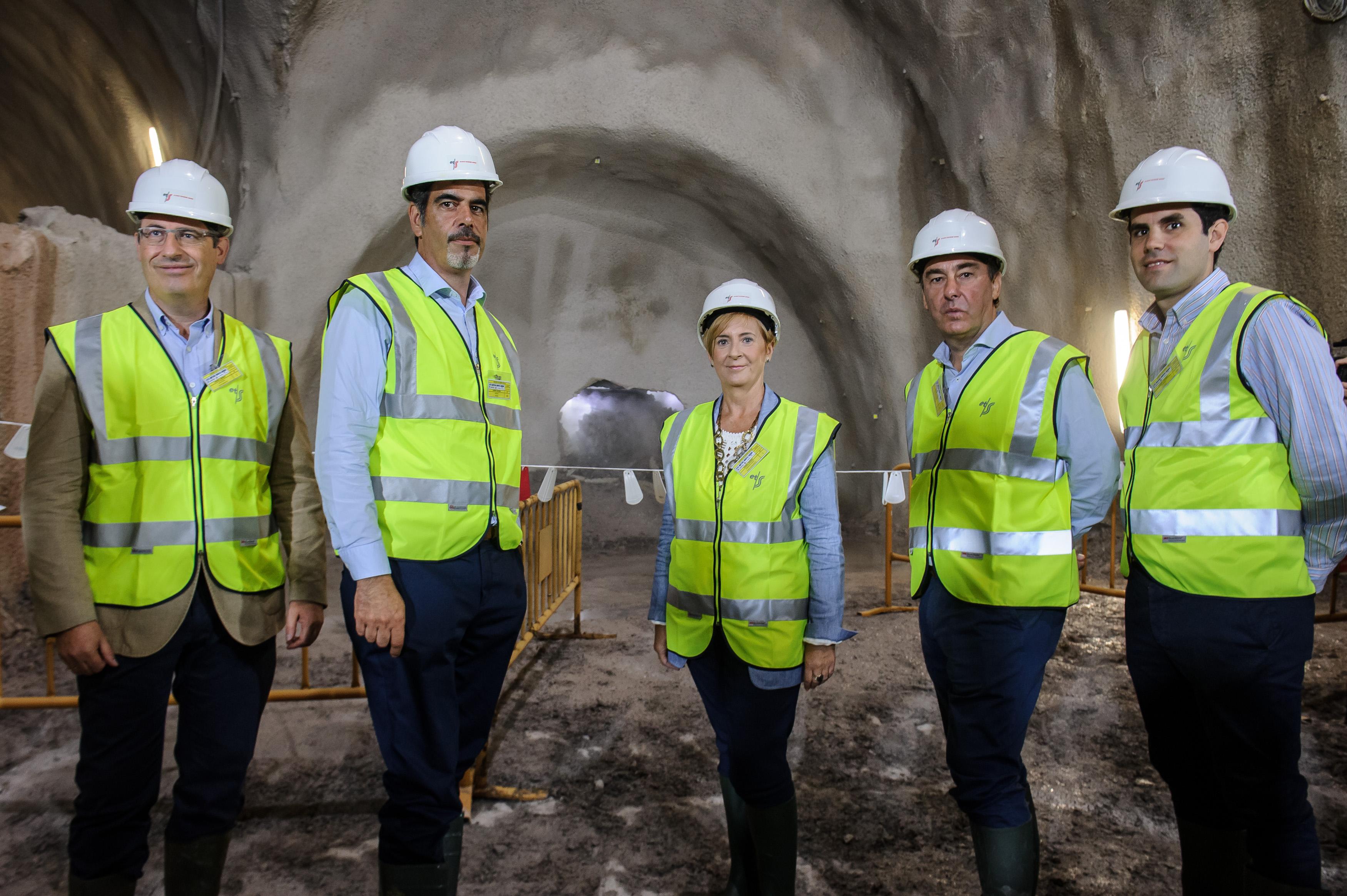 Completado con éxito el primer cale del túnel de línea en Bentaberri