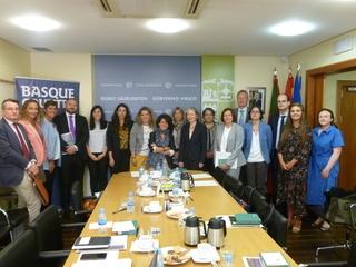 El Gobierno Vasco presenta en Madrid al Cuerpo Diplomático las bases del Concierto Económico y cómo regula las relaciones tributarias y financieras entre el País Vasco y España