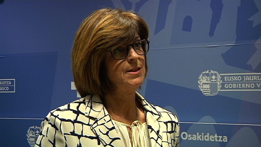 La Consejera de Salud, Nekane Murga, presentará en un congreso europeo las exitosas políticas de salud de Euskadi