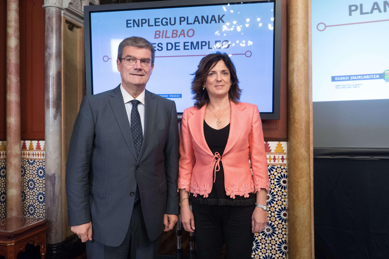 Los planes locales de empleo promovidos por Gobierno Vasco y Ayuntamiento de Bilbao impulsan la creación de 919 puestos de trabajo