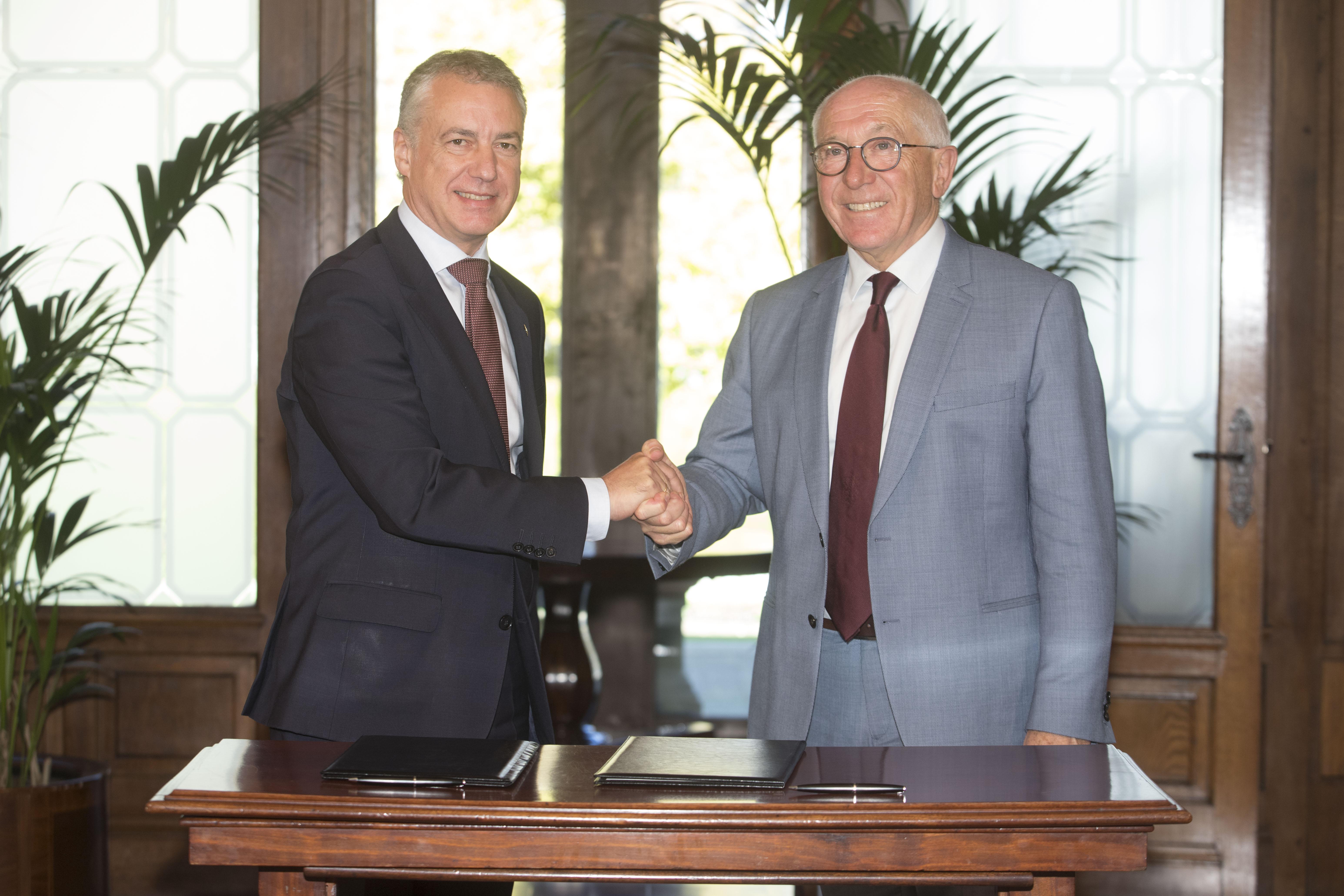 Euskadi e Iparralde refuerzan su cooperación institucional