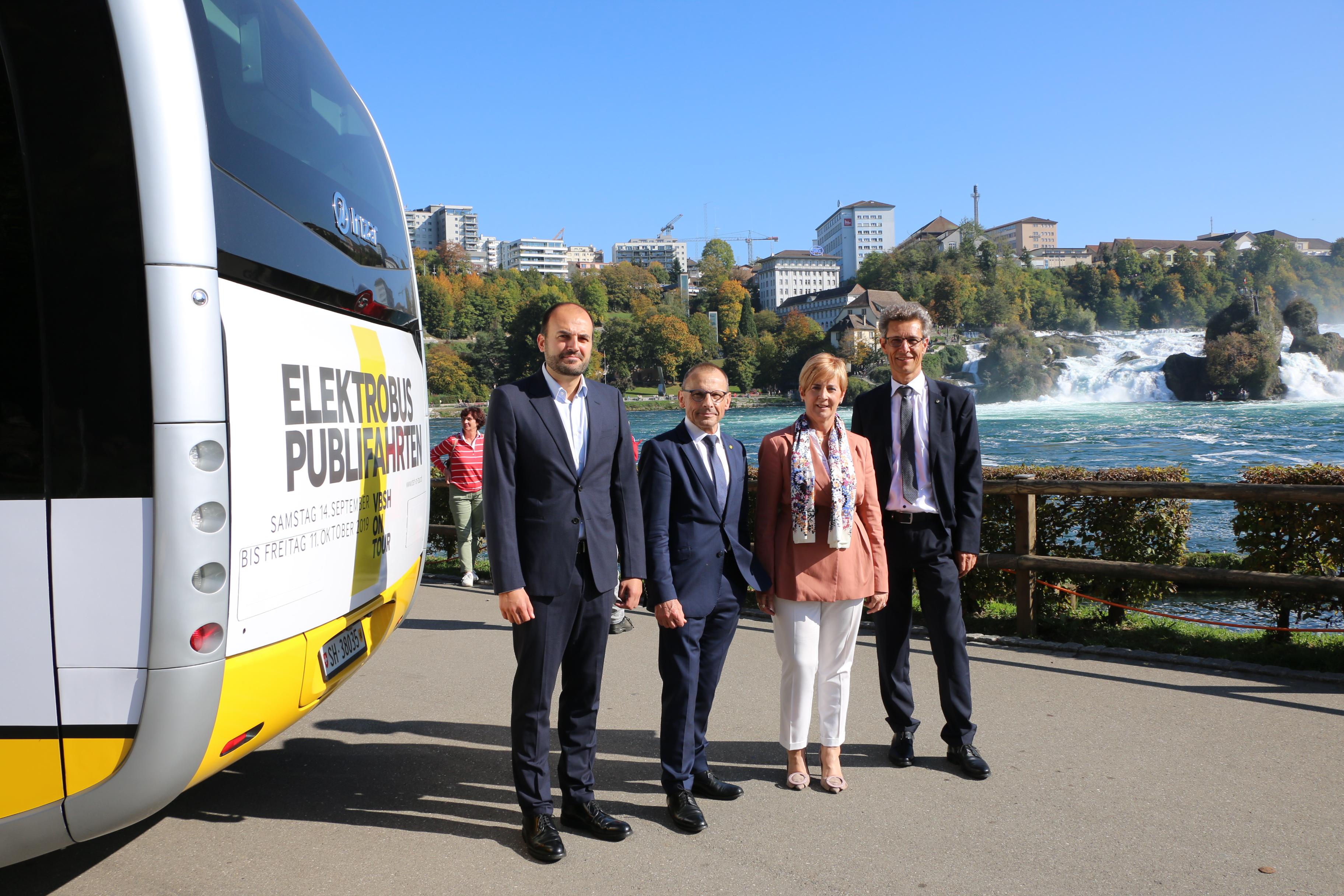 El Gobierno Vasco apoya el proyecto de autobús eléctrico de Irizar en Schaffhausen