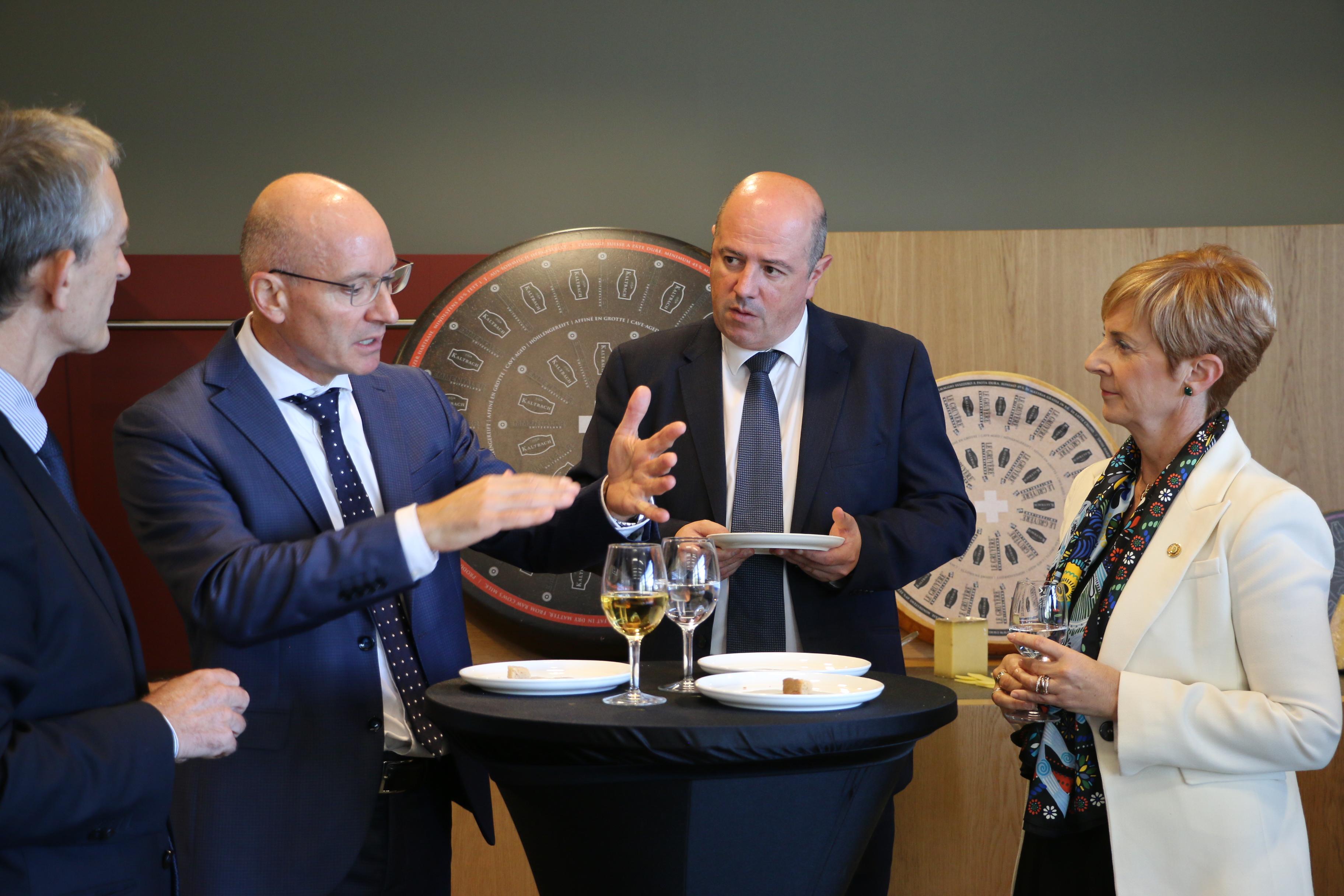 Euskadi refuerza en Suiza su apuesta para que la innovación lidere la Industria Alimentaria vasca unida al Desarrollo Rural