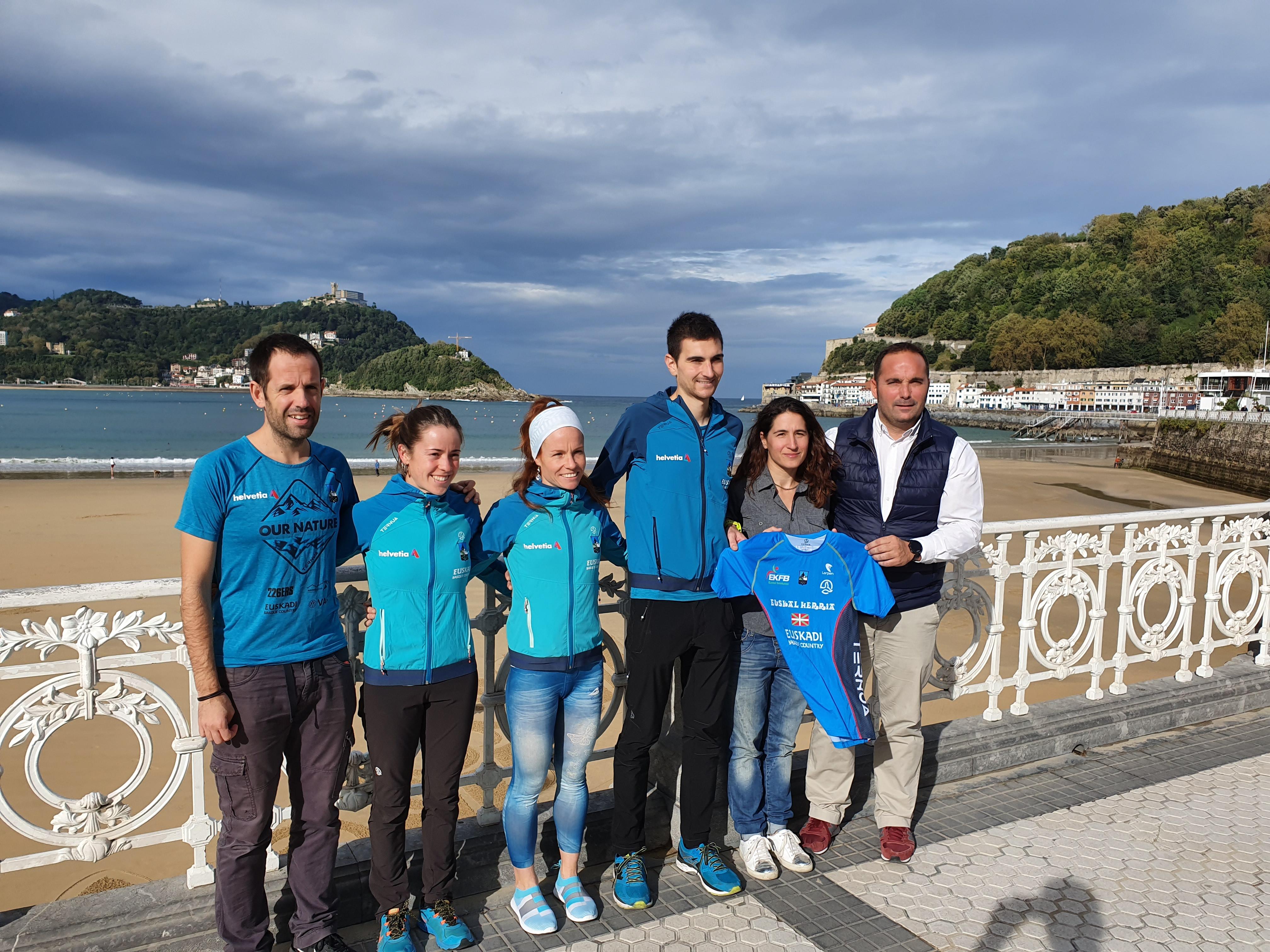 La Euskal Selekzioa de carreras de montaña tendrá cinco corredores en la final de la Copa del Mundo, gracias a su acuerdo con el Gobierno Vasco