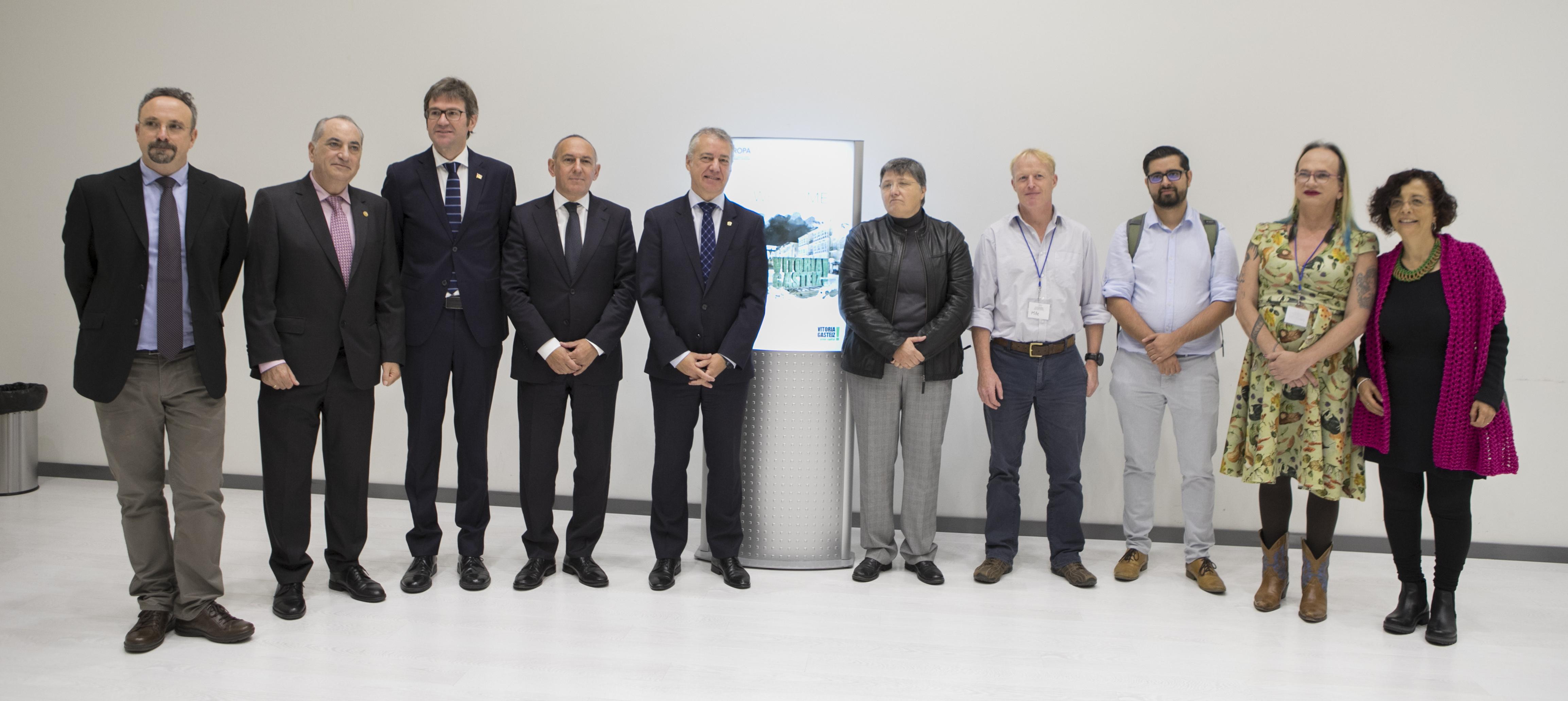 El Lehendakari afirma el compromiso de Euskadi Basque Country con el tesoro que representa el medio natural del planeta