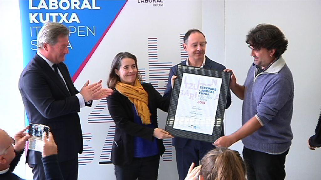 Ainara Muntek irabazi du aurtengo Etxepare – LABORAL Kutxa Itzulpen Saria