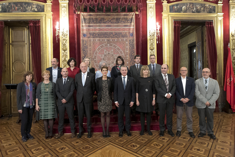 La Eurorregión renueva sus principales órganos para integrar al nuevo Gobierno de Navarra