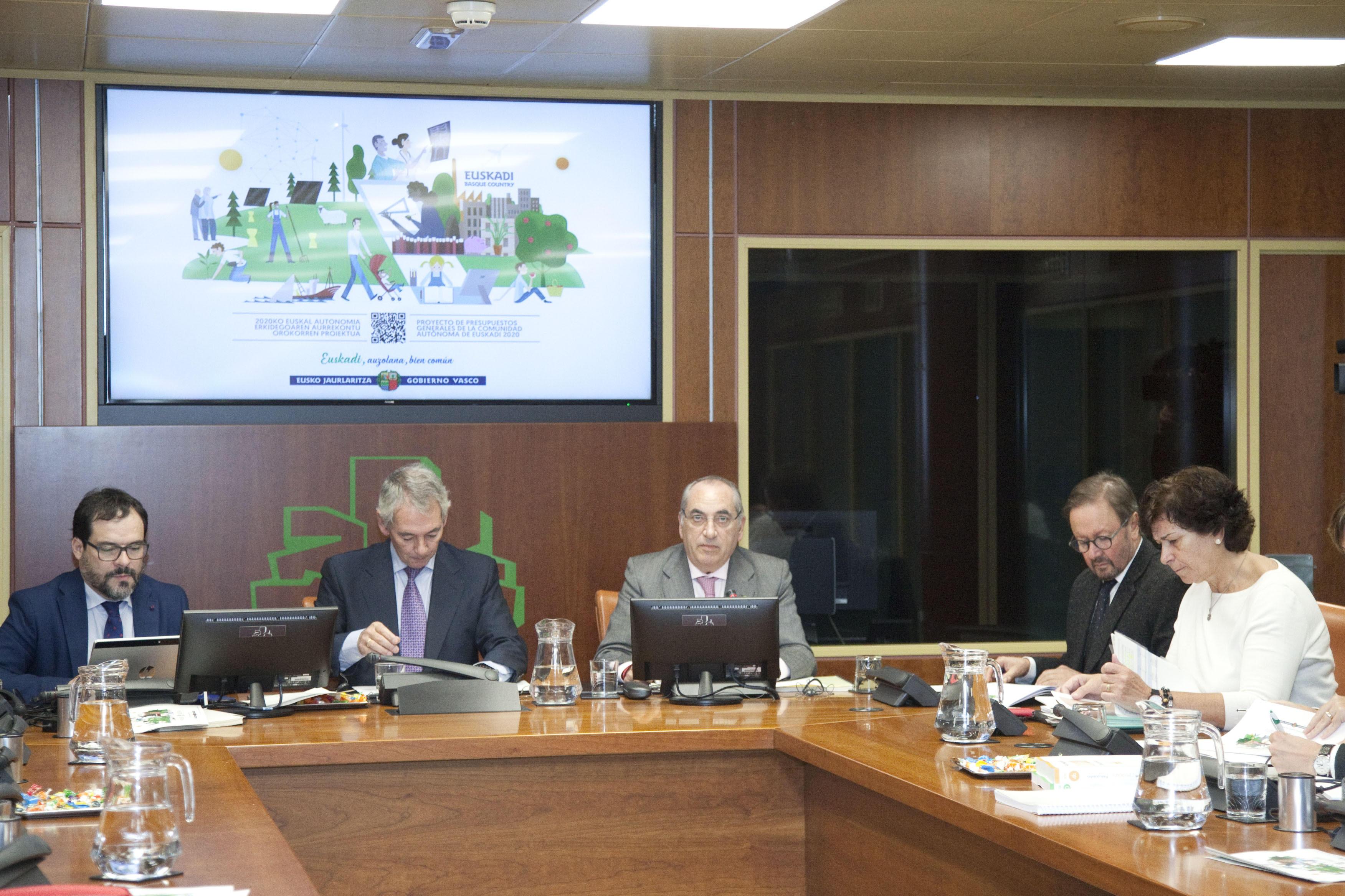 El presupuesto del Departamento de Medio Ambiente, Planificación Territorial y Vivienda se incrementa un 5,7% y cuenta este año con 236,12 millones de euros
