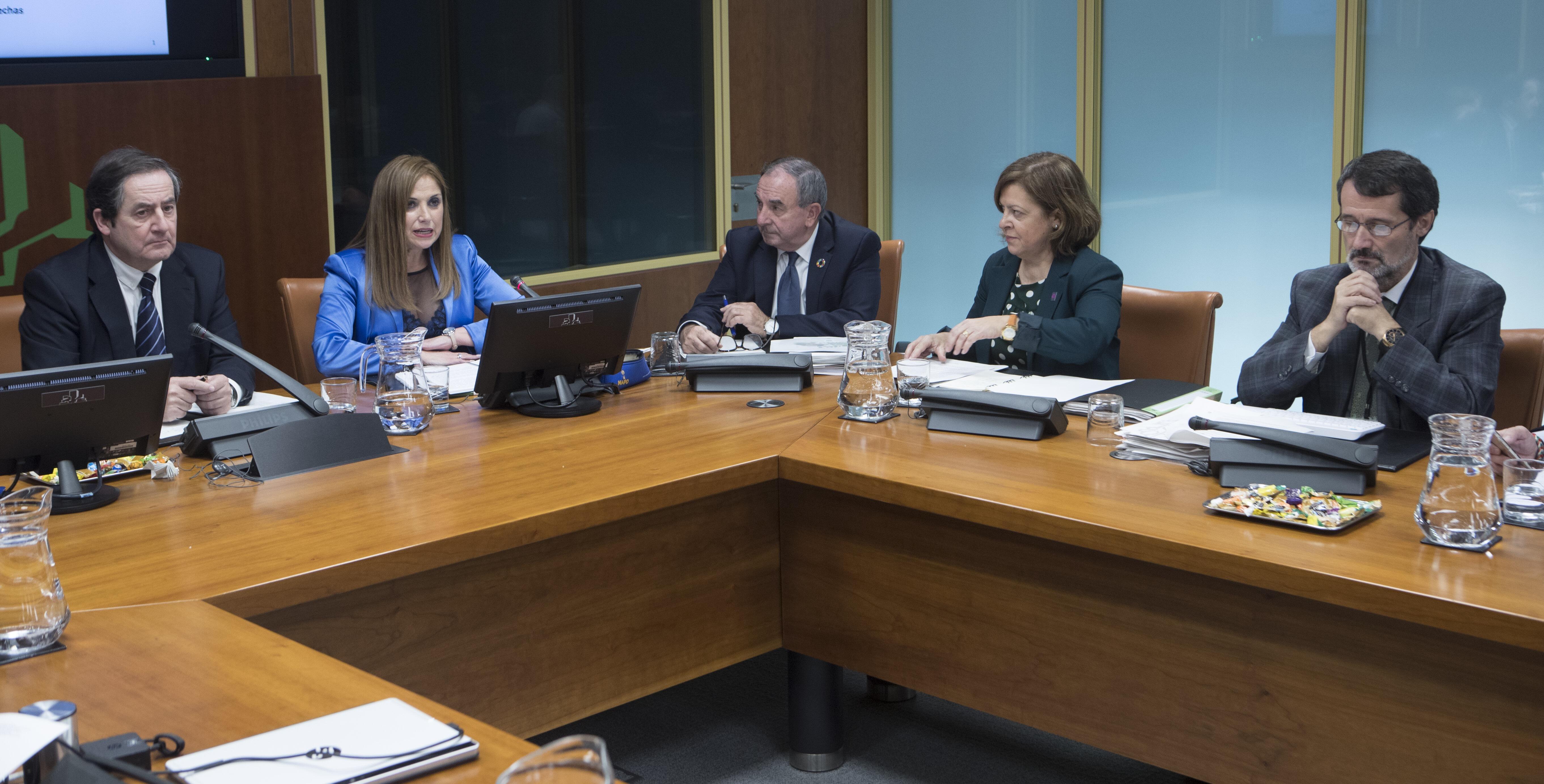 San José presenta el Proyecto de Presupuestos de Trabajo y Justicia con el objetivo de consolidar los retos del Programa Euskadi 2020