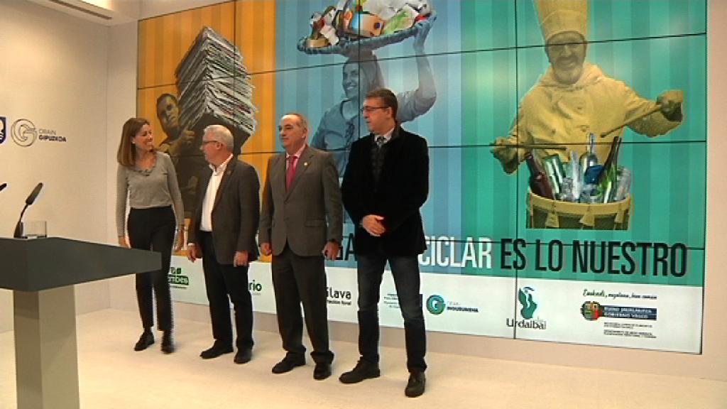 """Una nueva edición de la campaña """"Reciclar es lo nuestro"""" anima a la ciudadanía a que consuma responsablemente y a que separe los residuos"""