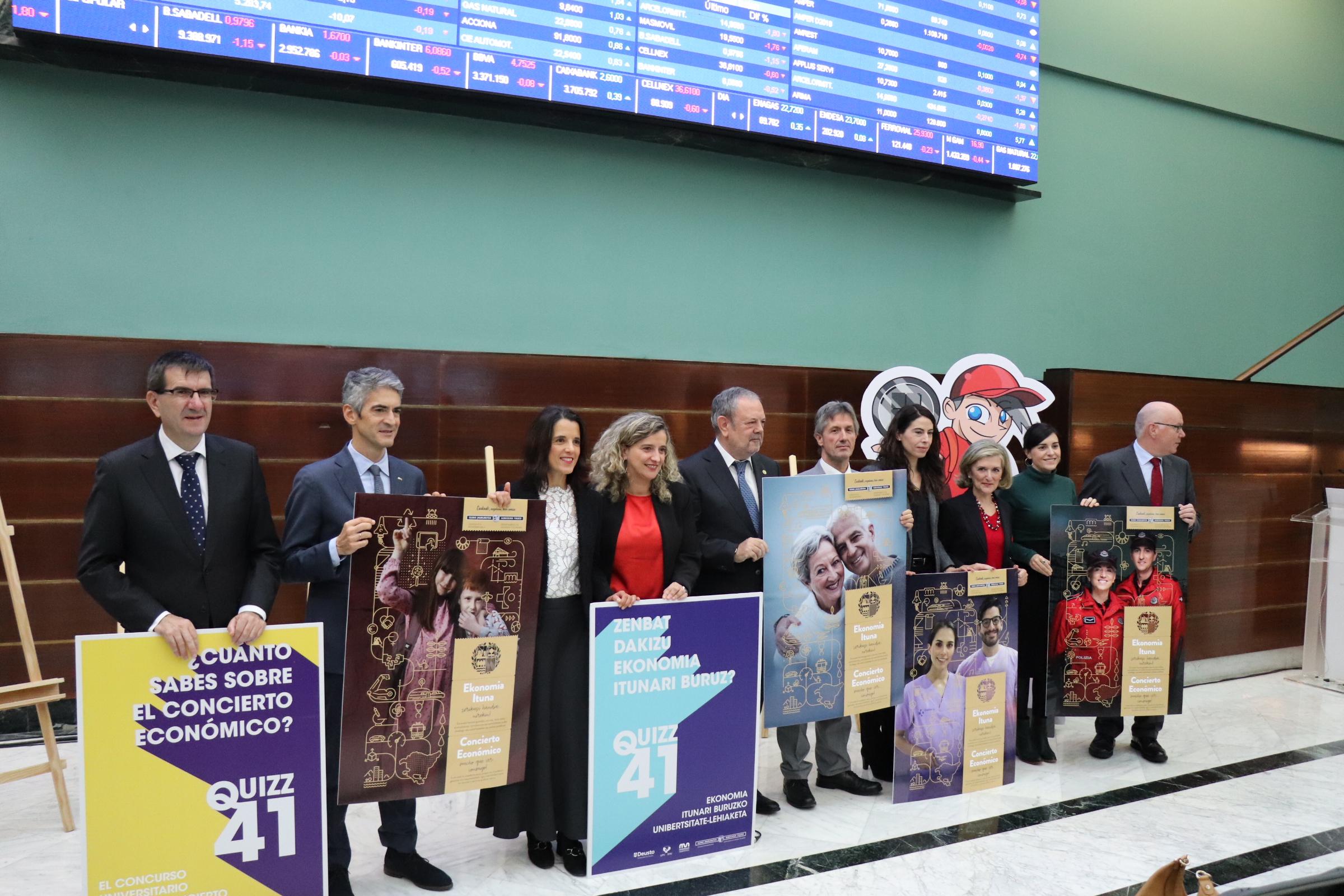 El Consejero de Hacienda y Economía, Pedro Azpiazu, presenta las actividades de difusión y promoción del Concierto Económico previstas para noviembre y diciembre de 2019.