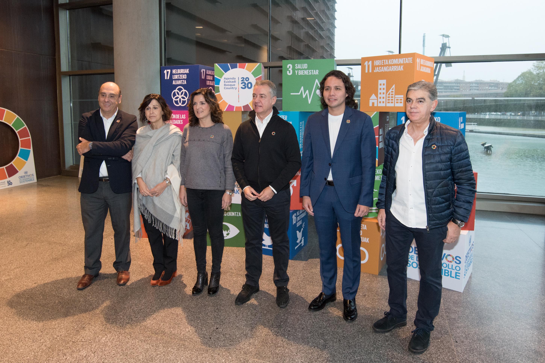 El Lehendakari pide a los jovenes compromiso con los 17 Objetivos de Desarrollo Sostenible para poder transformar el planeta