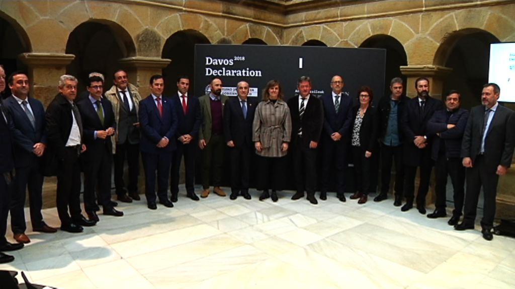 17 entidades vascas se adhieren a la declaración de DAVOS, que reivindica la cultura por encima de los beneficios económicos a corto plazo