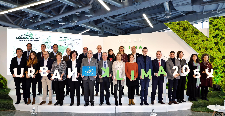 Euskadi se une en el proyecto LIFE Urban Klima para adaptarse el cambio climático