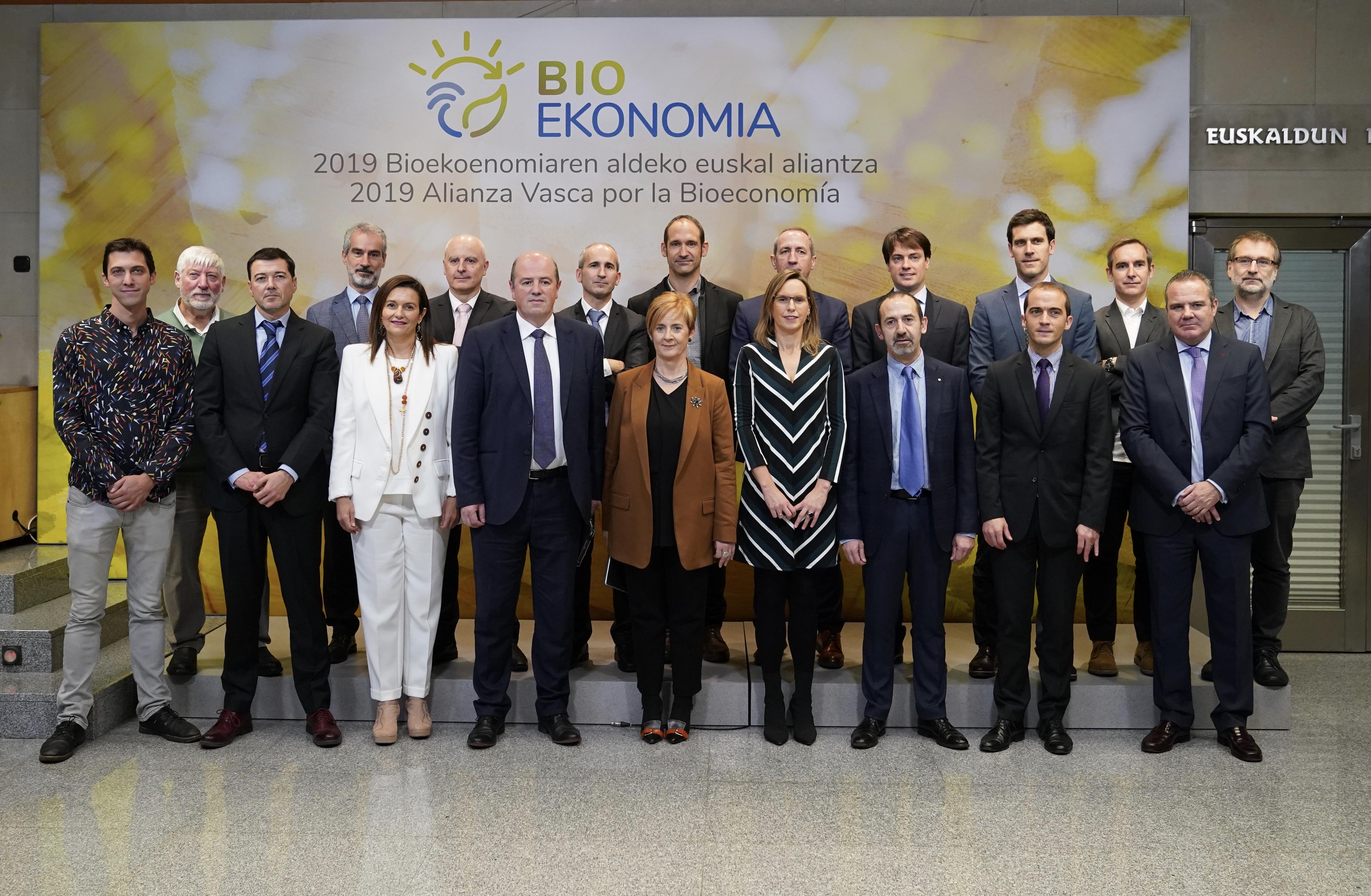 Bioekonomiaren Euskal Aliantza sortu da, Euskadiko ekonomia dibertsifikatzeko eta garapen jasangarrian laguntzeko