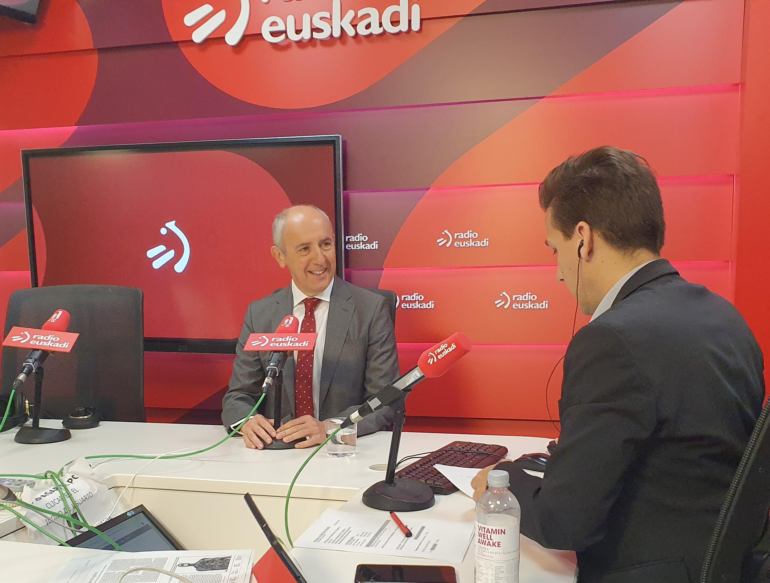 """Josu Erkoreka: """"Es importante que se aborde ahora con voluntad real y leal la transferencia del Régimen Económico de la Seguridad Social"""""""