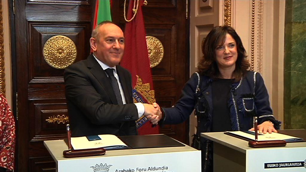 Gobierno vasco y Diputación Foral de Álava coordinan sus políticas de empleo e inserción socio-laboral
