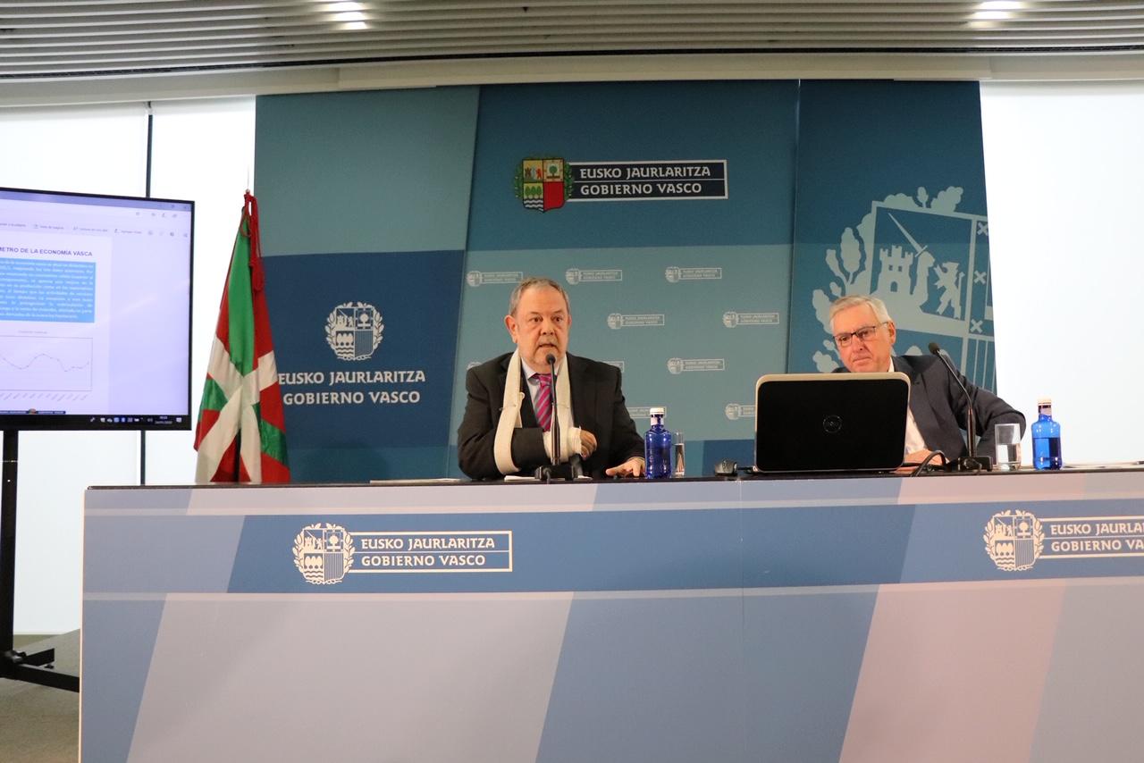 El Gobierno Vasco confirma el crecimiento económico de Euskadi de 2019 en el 2,2%