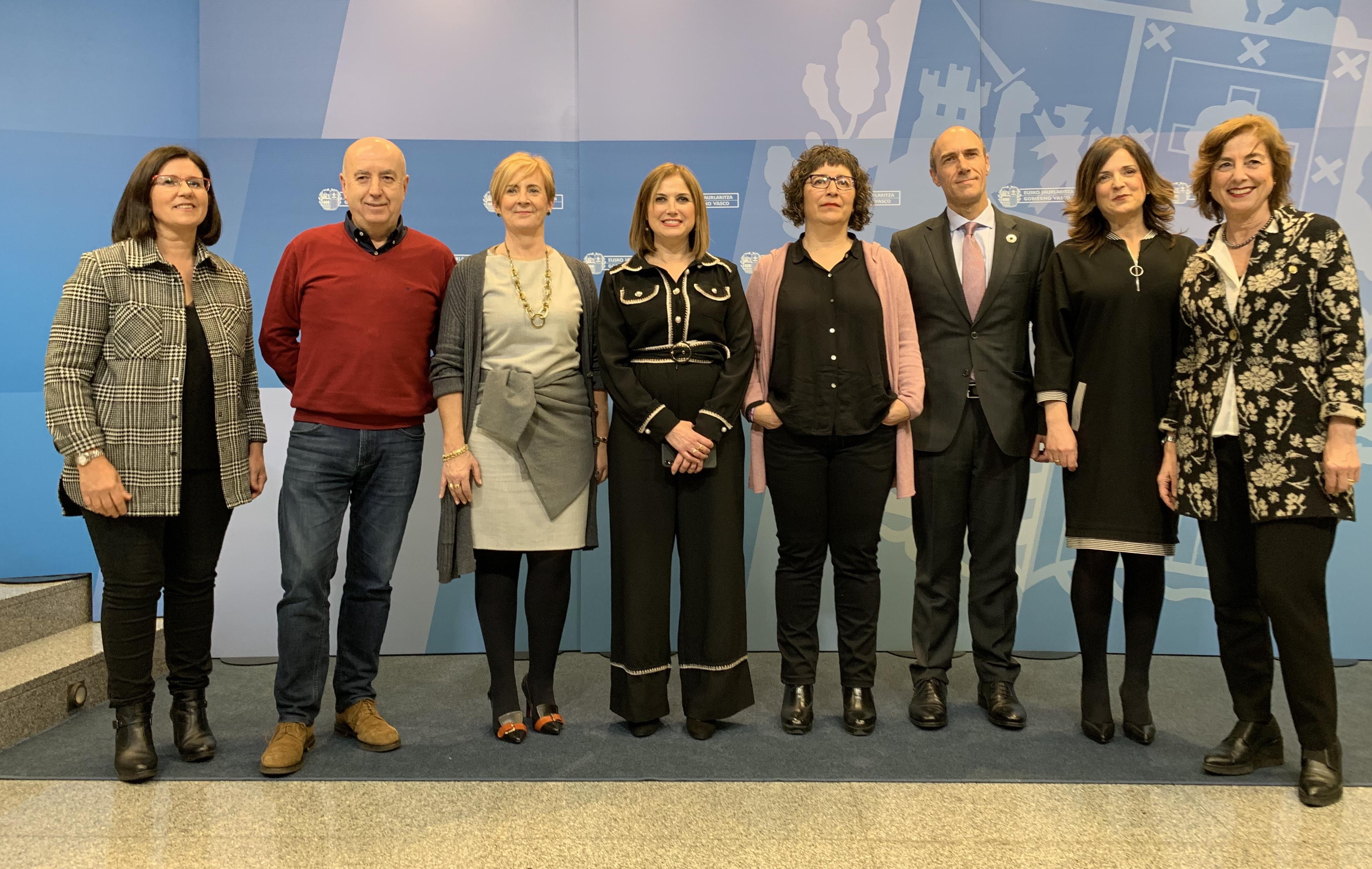 Gobierno Vasco, Confebask, CCOO y UGT aprueban los acuerdos alcanzados por los Grupos de Trabajo de la Mesa de Diálogo Social y establecen el Plan de Trabajo para 2020