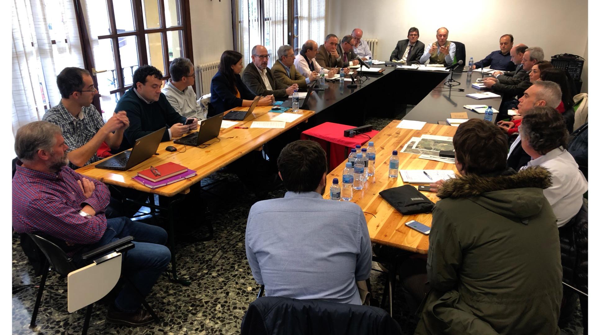 Segunda reunión de seguimiento de la mesa técnica de coordinación y seguimiento sobre el derrumbe del vertedero de Zaldibar