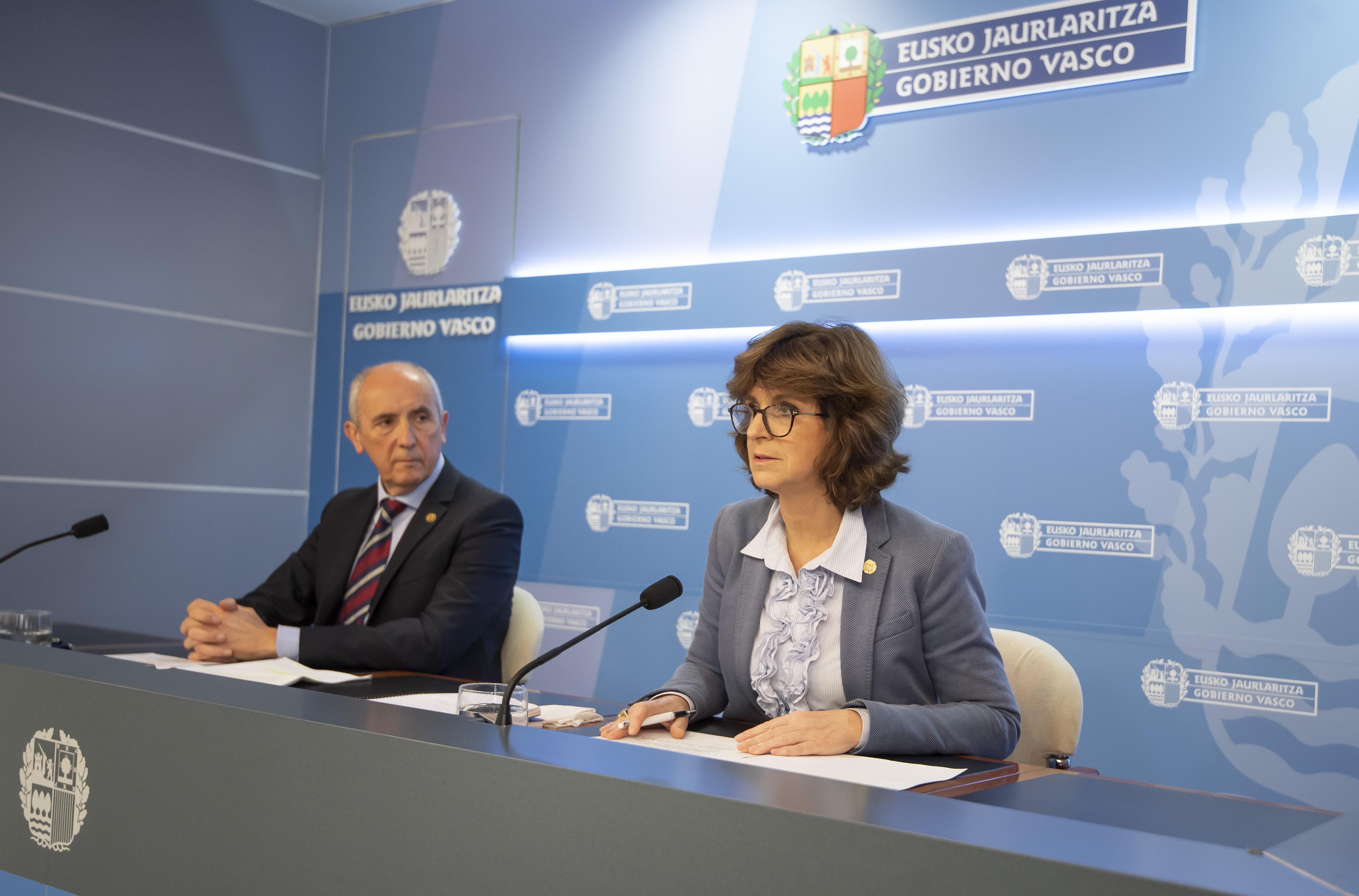 El Gobierno Vasco agradece el esfuerzo que están realizando las y los profesionales sanitarios