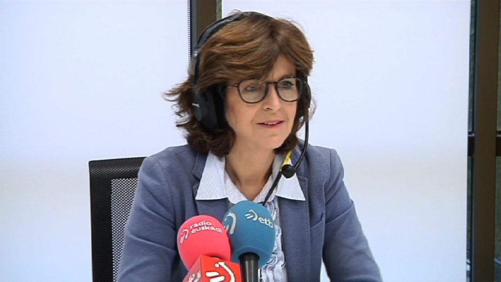 La Consejera de Salud  pide colaboración a la población vasca para seguir las recomendaciones de prevención