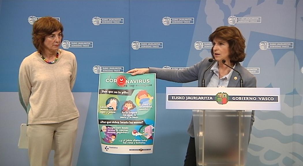 El Gobierno Vasco extiende la suspensión temporal de clases a todos los centros educativos de Bizkaia y Gipuzkoa para frenar la expansión del coronavirus en Euskadi