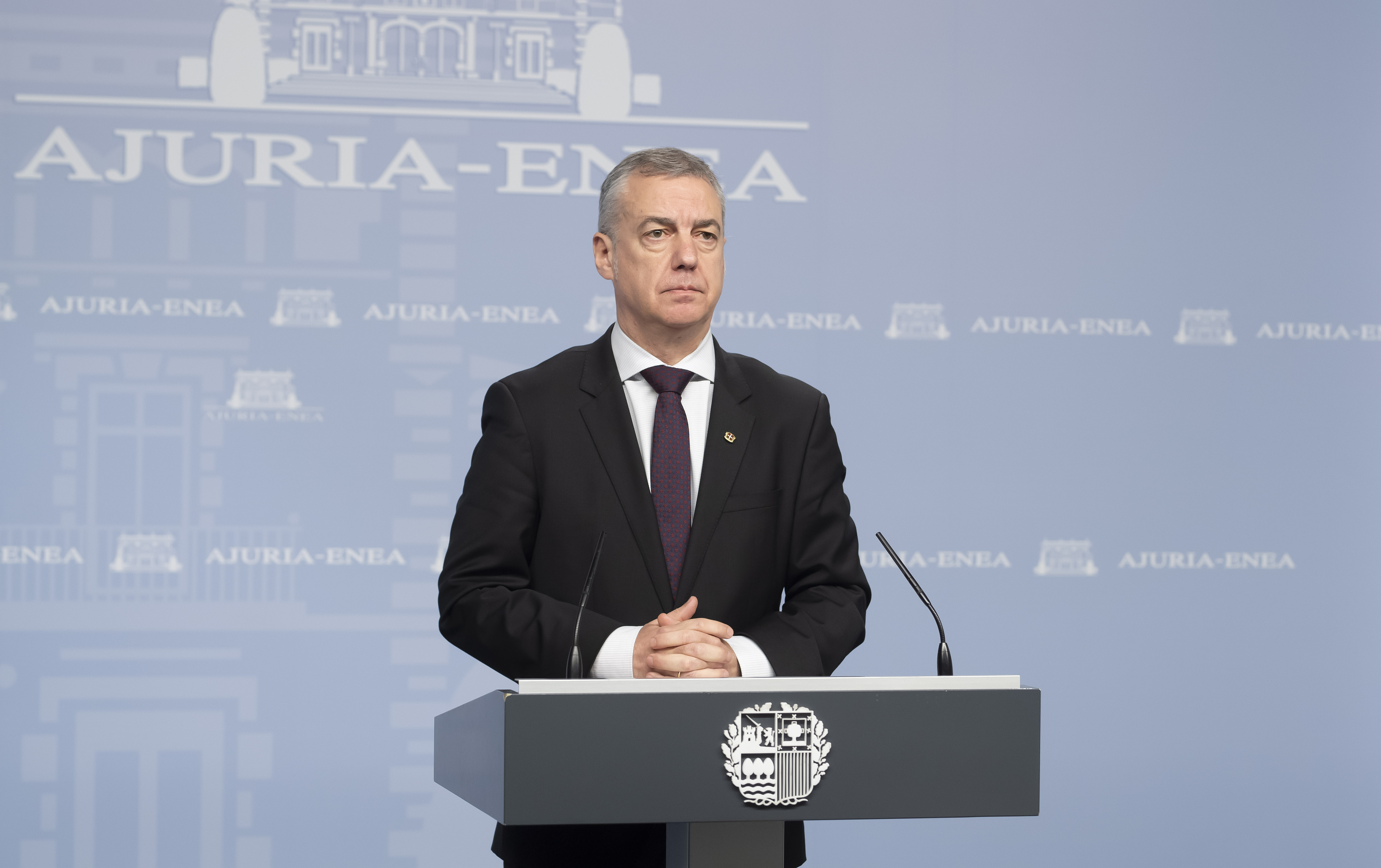Declaración del Lehendakari. Medidas de Emergencia ante la situación creada por el coronavirus en Euskadi