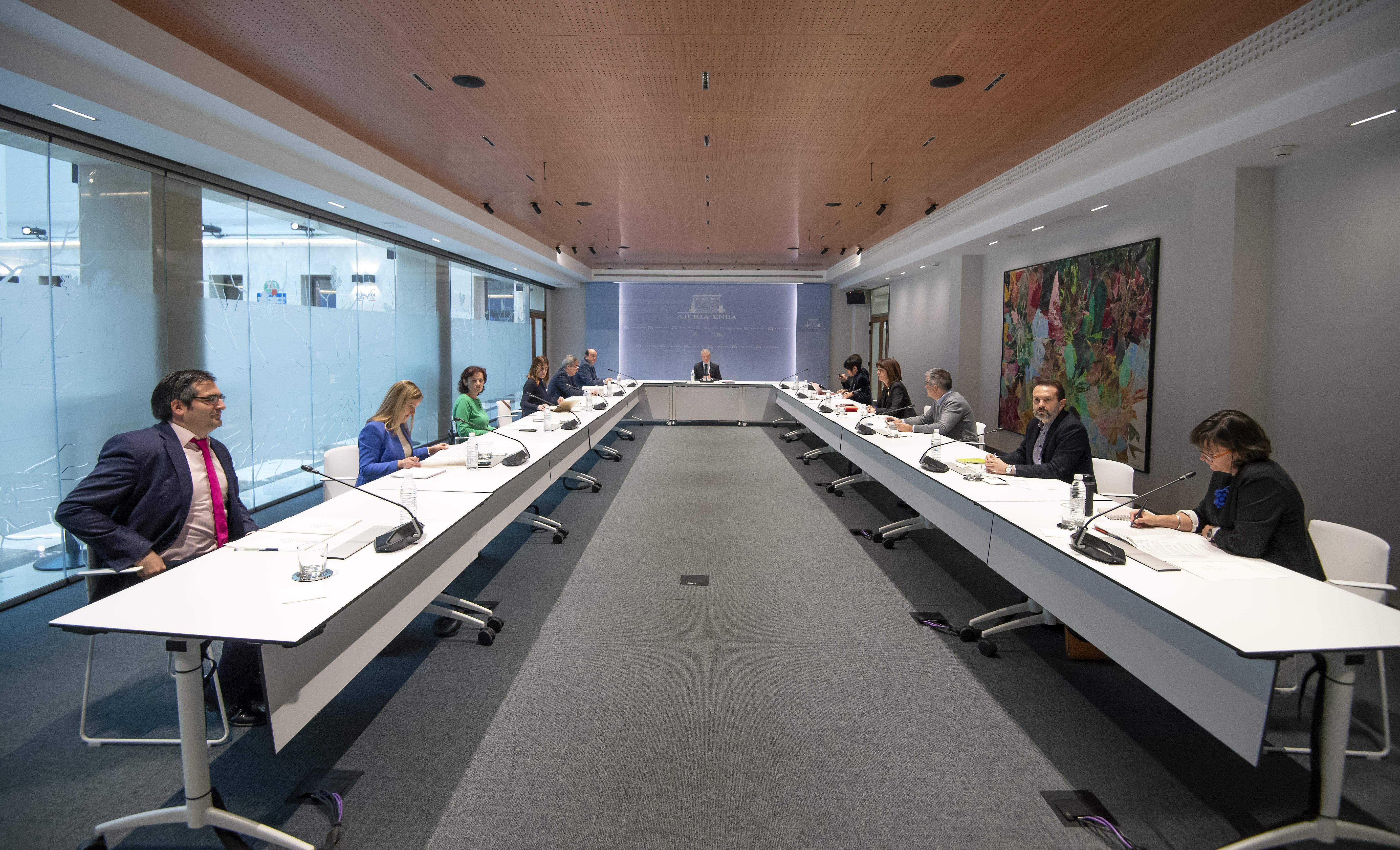 Nota conjunta tras la reunión del Lehendakari con los partidos políticos vascos para consensuar la no celebración de las elecciones autonómicas vascas el 05 de abril de 2020