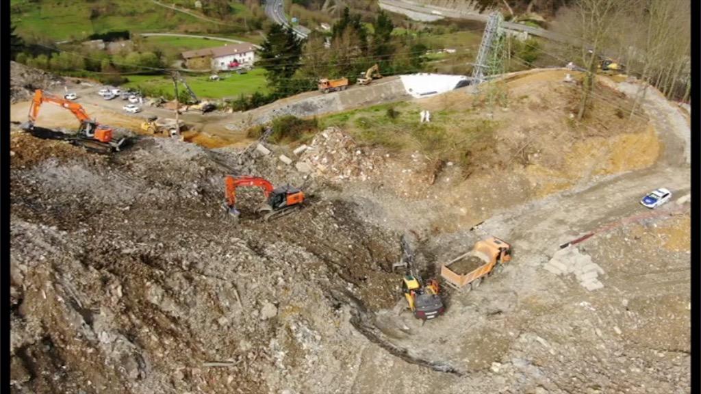 Zaldibarko zabortegian (Verter Recycling 2002) Alberto eta Joaquin bilatzeko operatiboari buruzko informazioa [1:08]