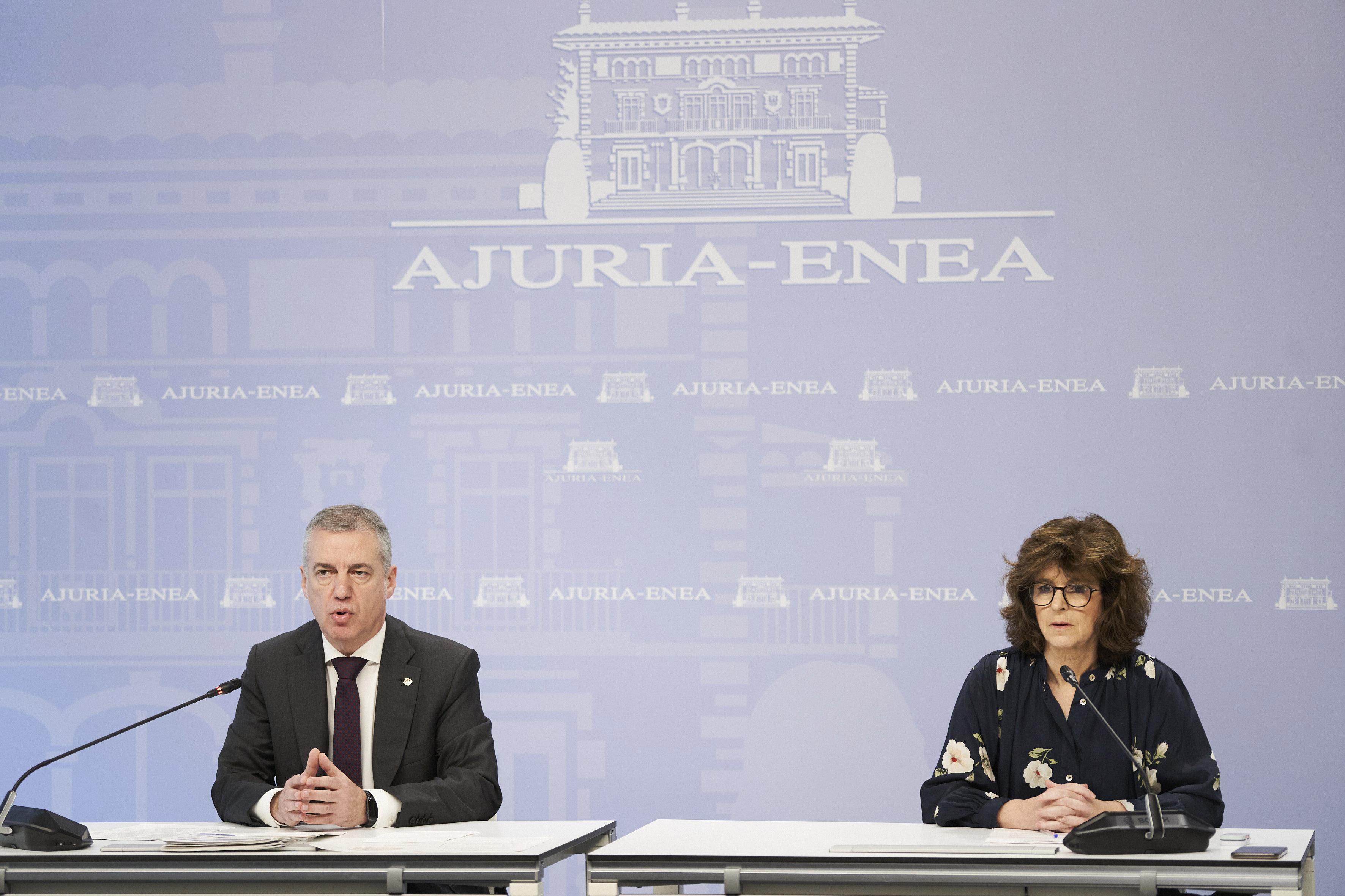 El Gobierno Vasco aprueba una primera batería de medidas que asciende a 841 millones de euros [55:28]