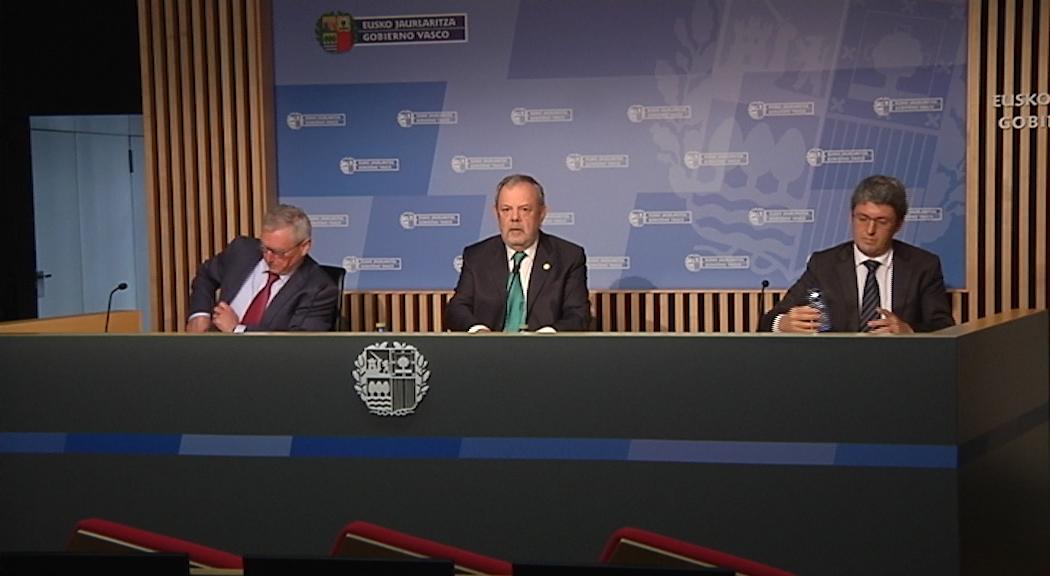 Revisión del cuadro macroeconómico del País Vasco para 2020 y medidas del Gobierno Vasco para afrontar la excepcionalidad e incertidumbre económica