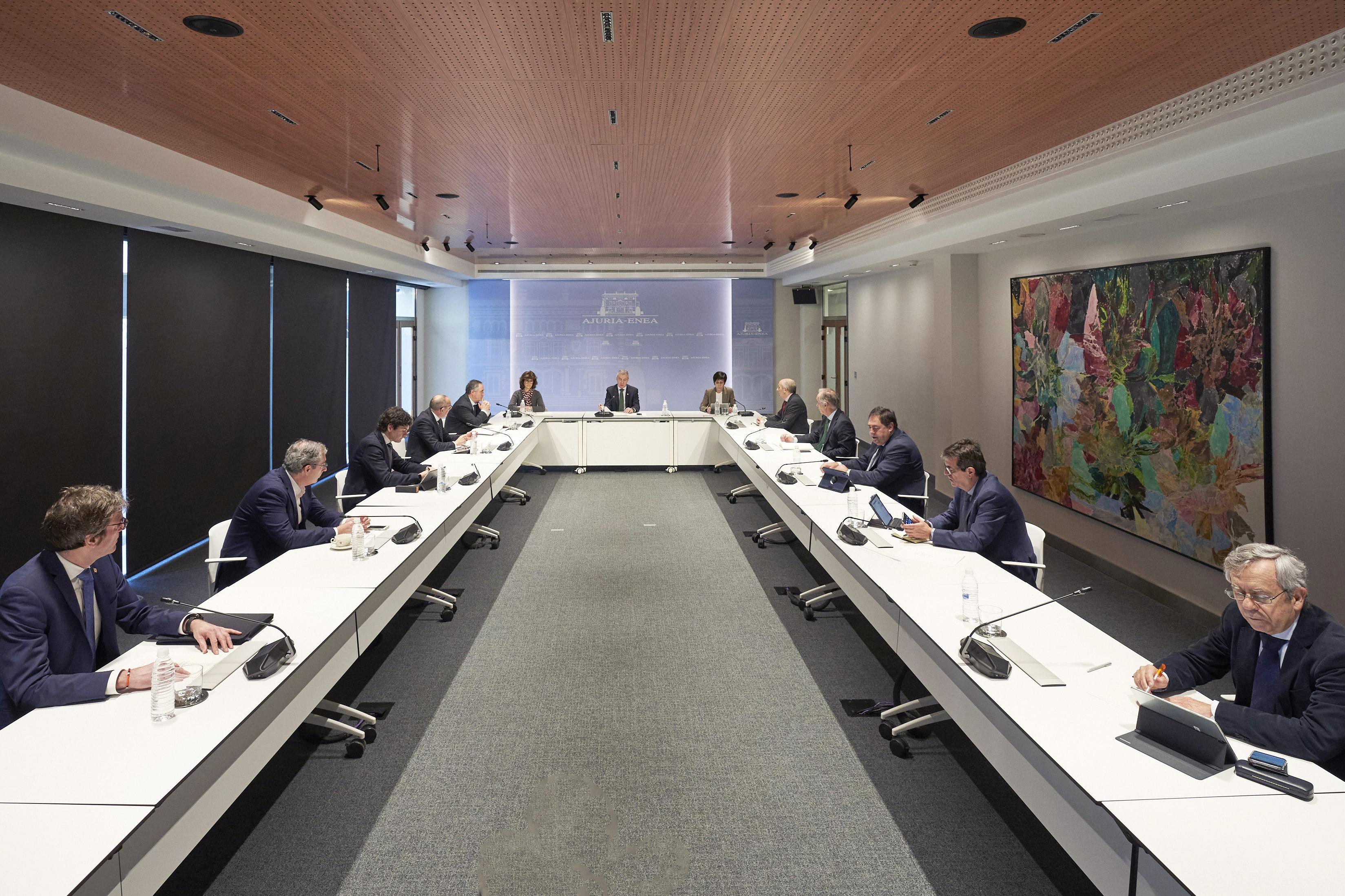"Lehendakari: ""Euskadi se encuentra por primera vez con datos que permiten sostener una perspectiva positiva"""