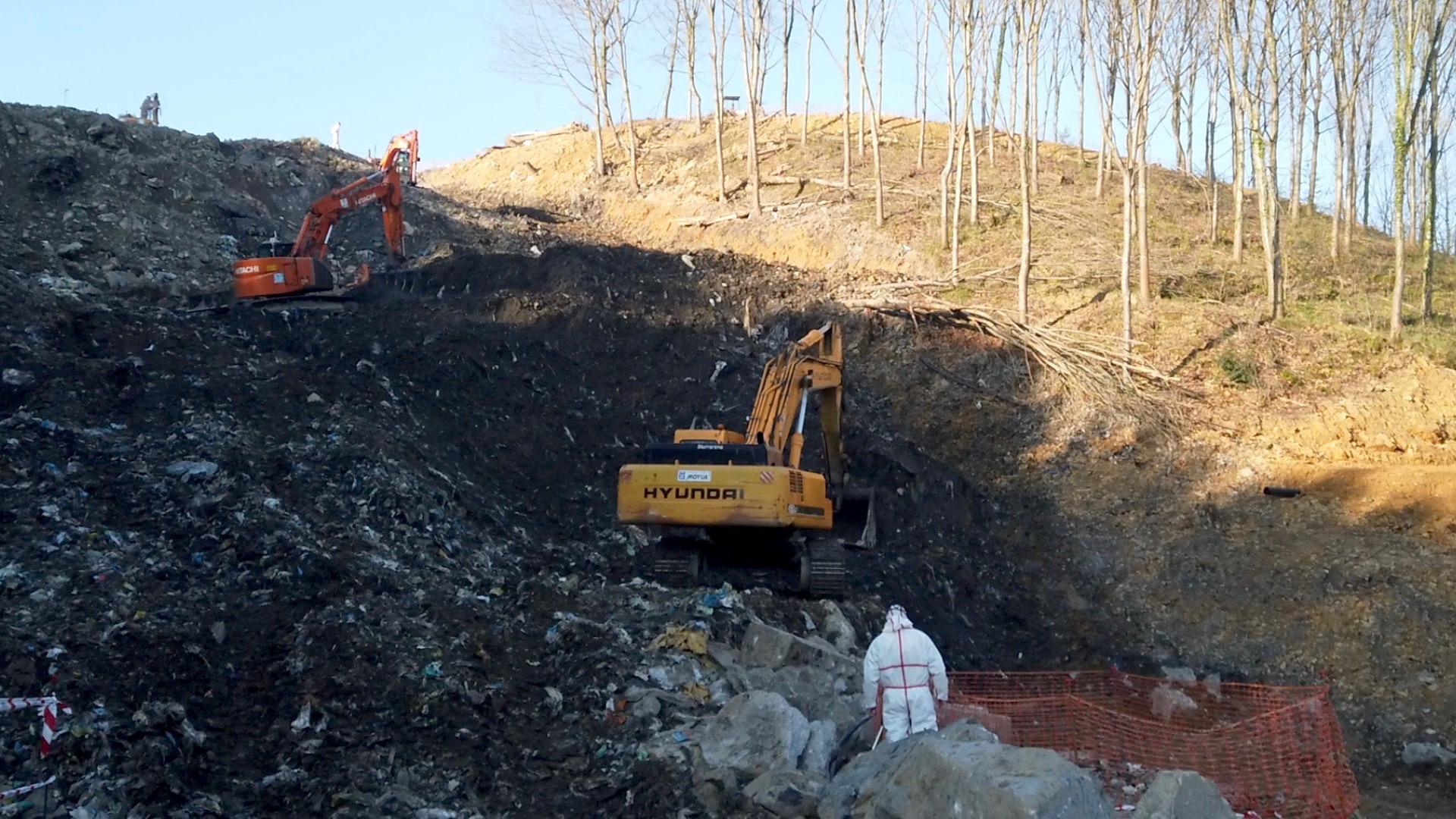 Información sobre el operativo de búsqueda de Alberto y Joaquín en el vertedero de Zaldibar (Verter Recycling 2002